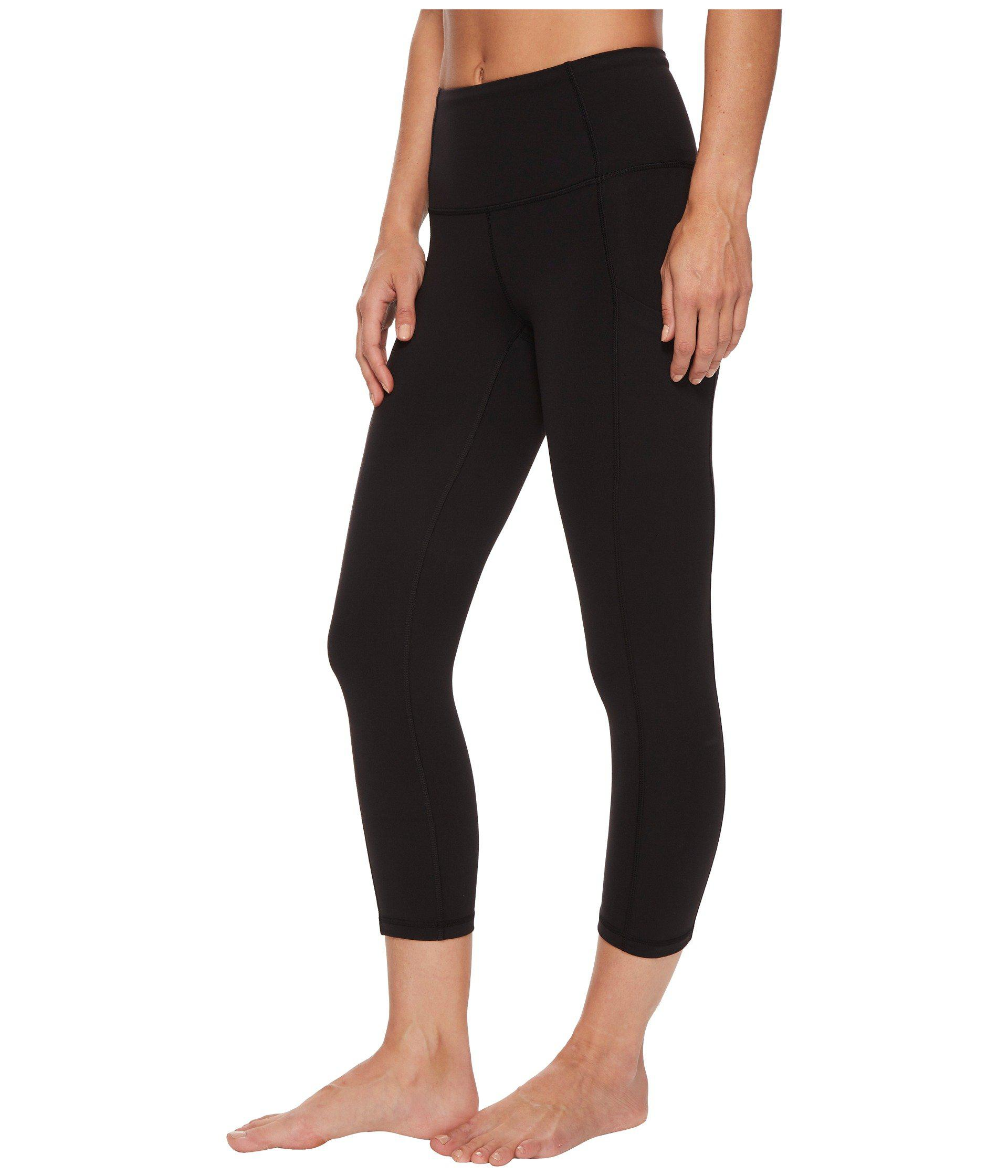 fc590013e79b3 Lyst - The North Face Motivation High-rise Pocket Crop Pants (tnf Black)  Women's Casual Pants in Black