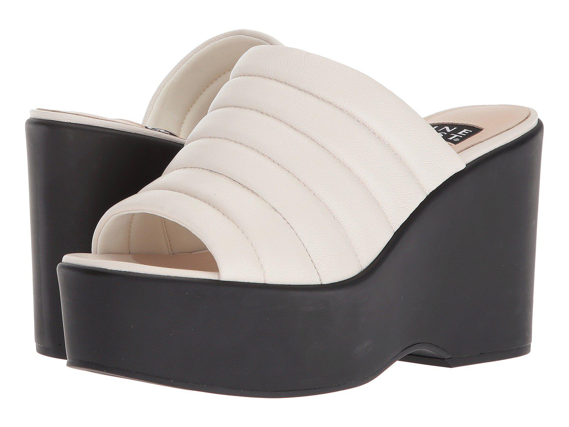 6d026721389c Lyst - Nine West Millie 40th Anniversary Platform Slide Sandal