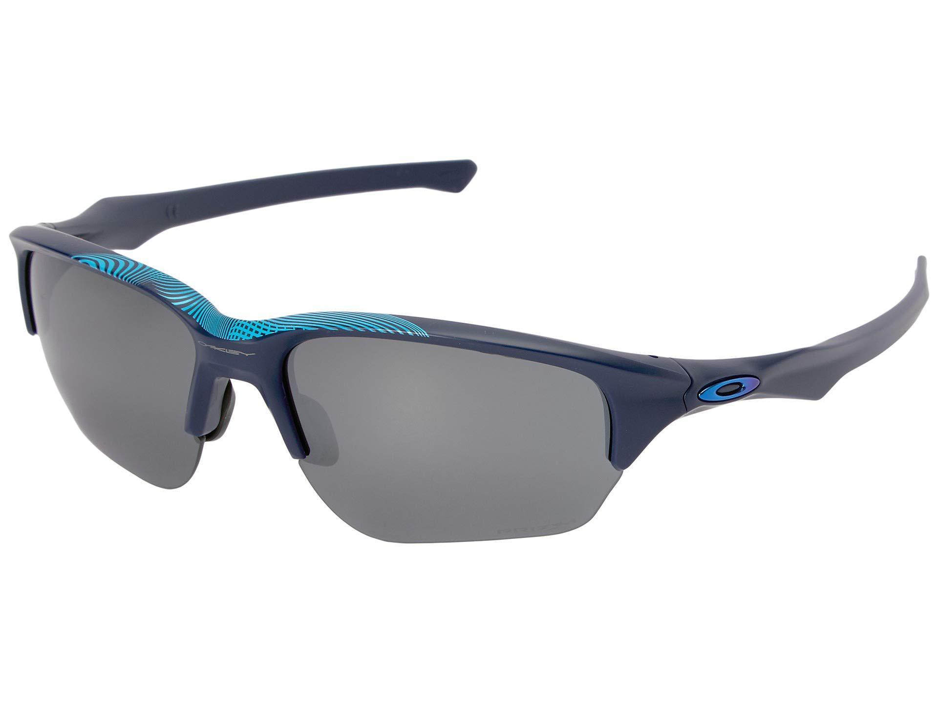 3ca4c12803 Oakley. Men s Blue Flak Beta (aero Matte Navy W  Prizm Black) Sport  Sunglasses