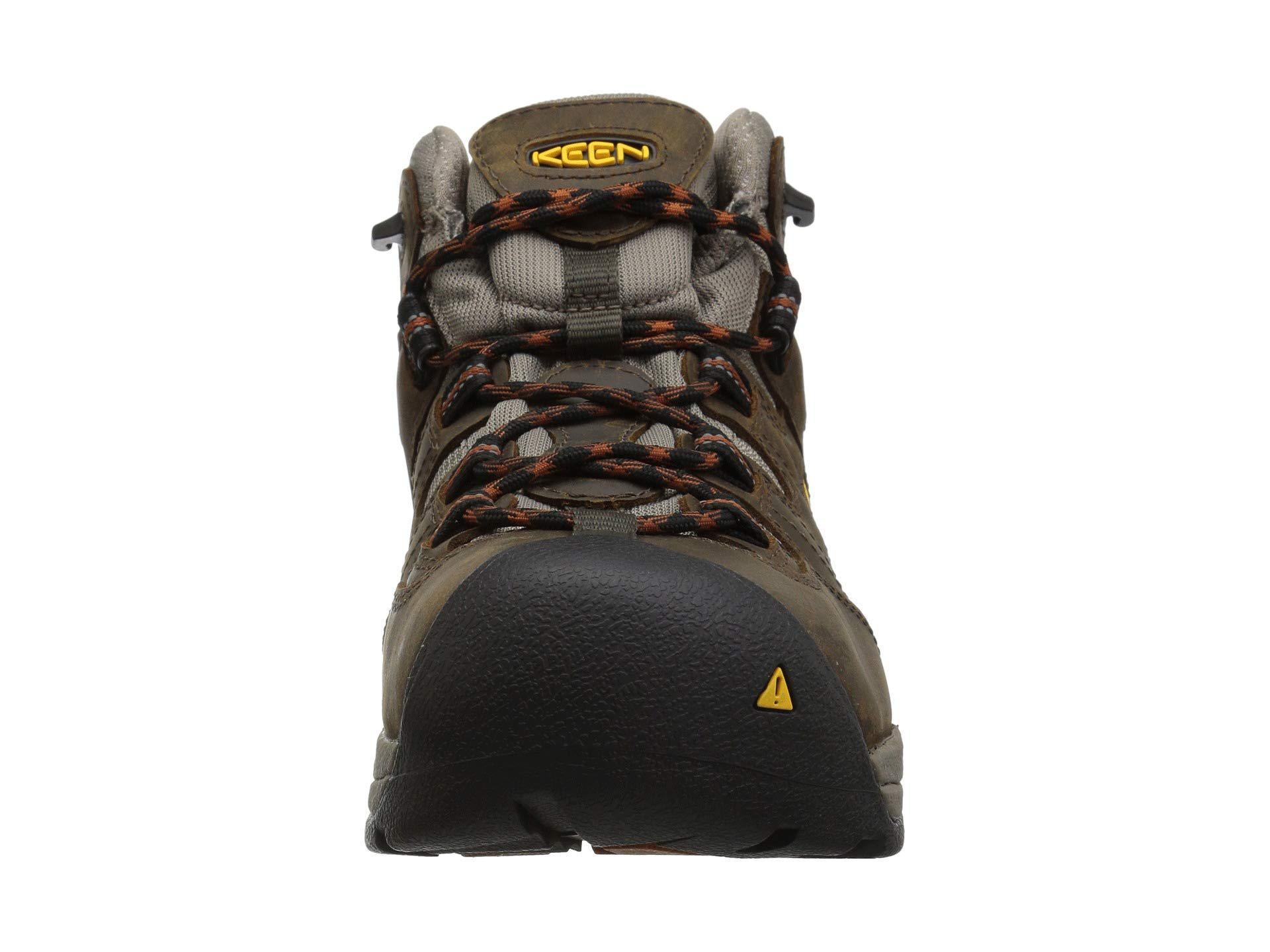 8e3ae5a8996 Lyst - Keen Utility Detroit Xt Mid Soft Toe Waterproof Work Boot in ...
