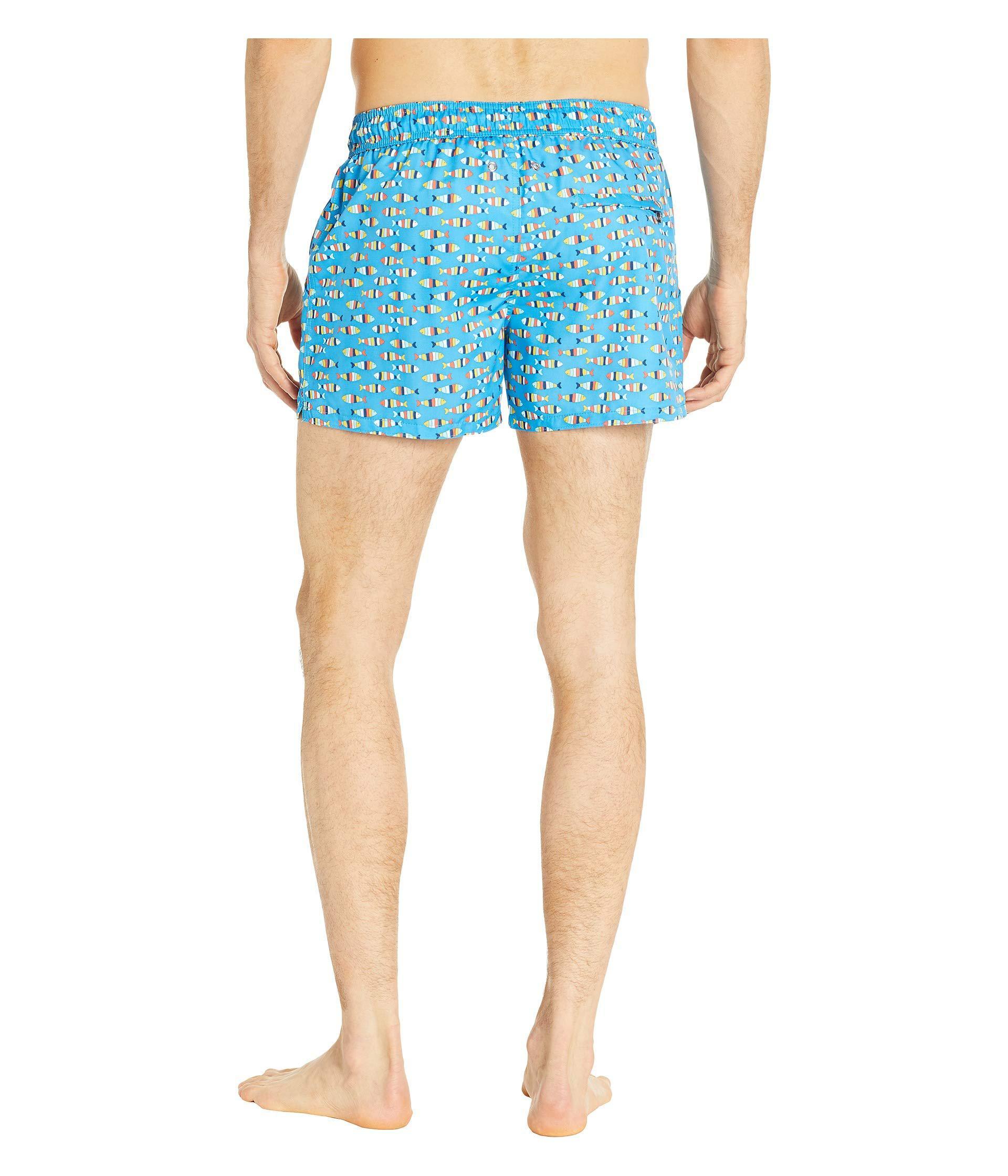 6060ffec99 ... Fashion Woven Ibiza Swim Shorts (multi Striped Fish. View fullscreen