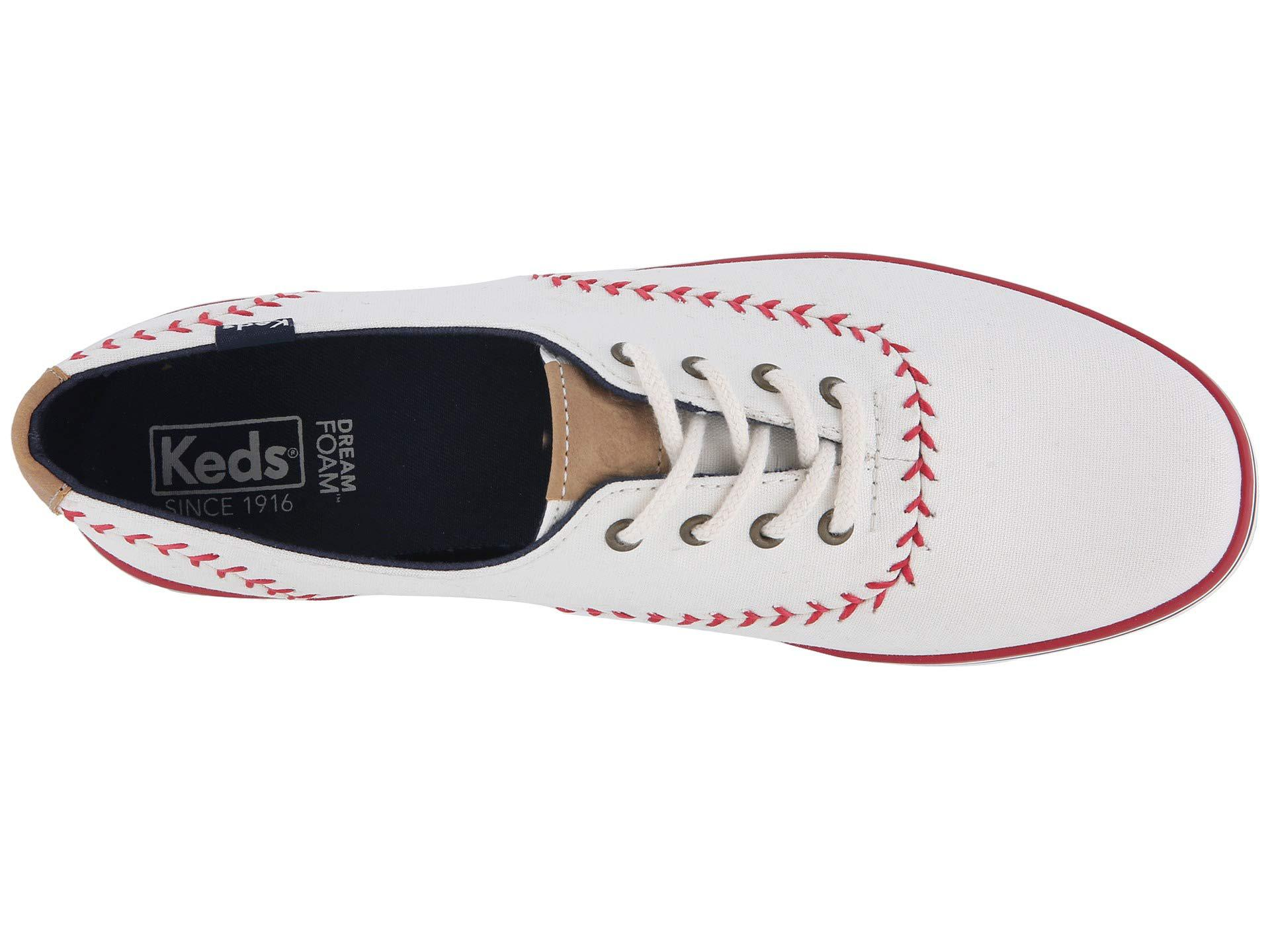 600709db0b1 Keds - White Champion Pennant Leather Sneaker - Lyst. View fullscreen