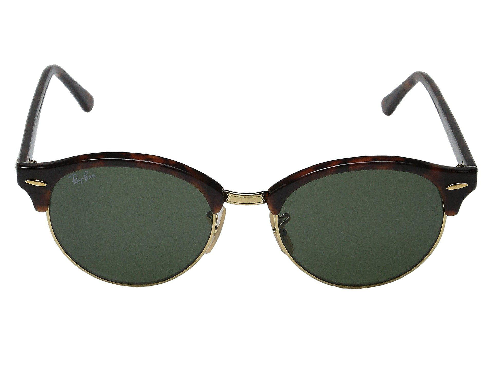 3384ad641c Lyst - Ray-Ban Rb4246 51mm (spotted Brown blue brown Gradient ...