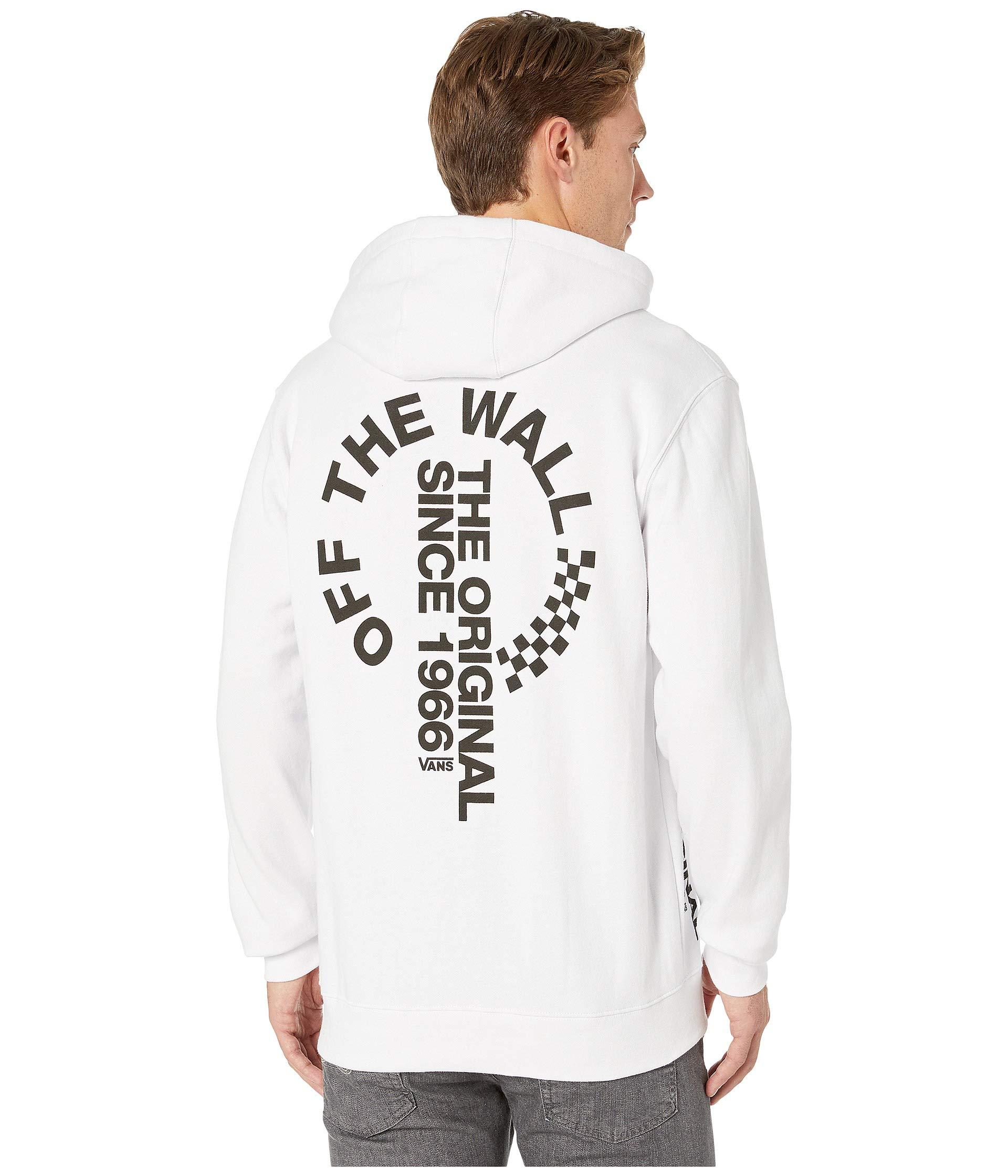 e2033c01ba639f Lyst - Vans Off The Wall Distort Pullover Fleece (black) Men s ...
