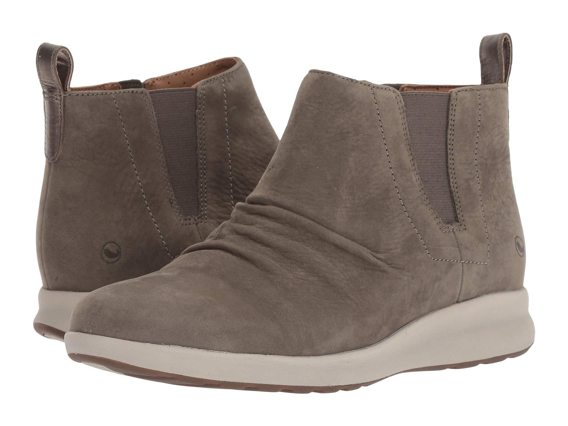Leather Adorn Women's Clarks Brown In Lyst Un Shoes dark Mid vYwSEAq