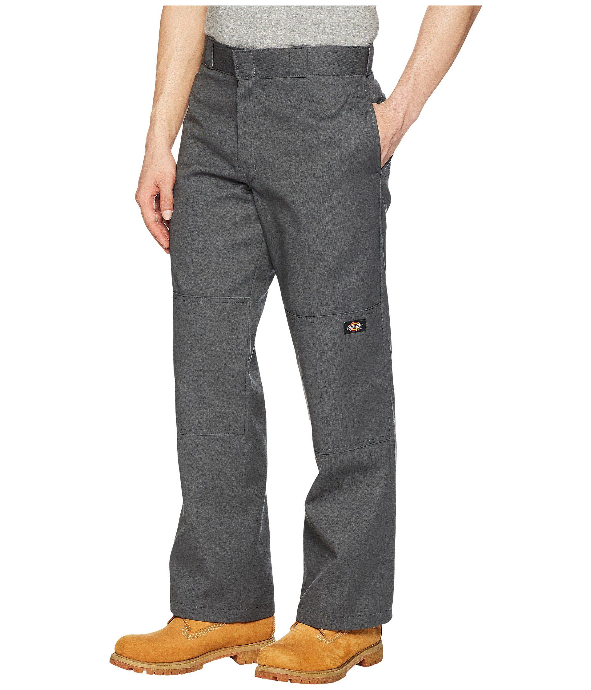 f79b5b274bc Lyst - Dickies Double Knee Work Pant (silver Gray) Men s Clothing in Gray  for Men