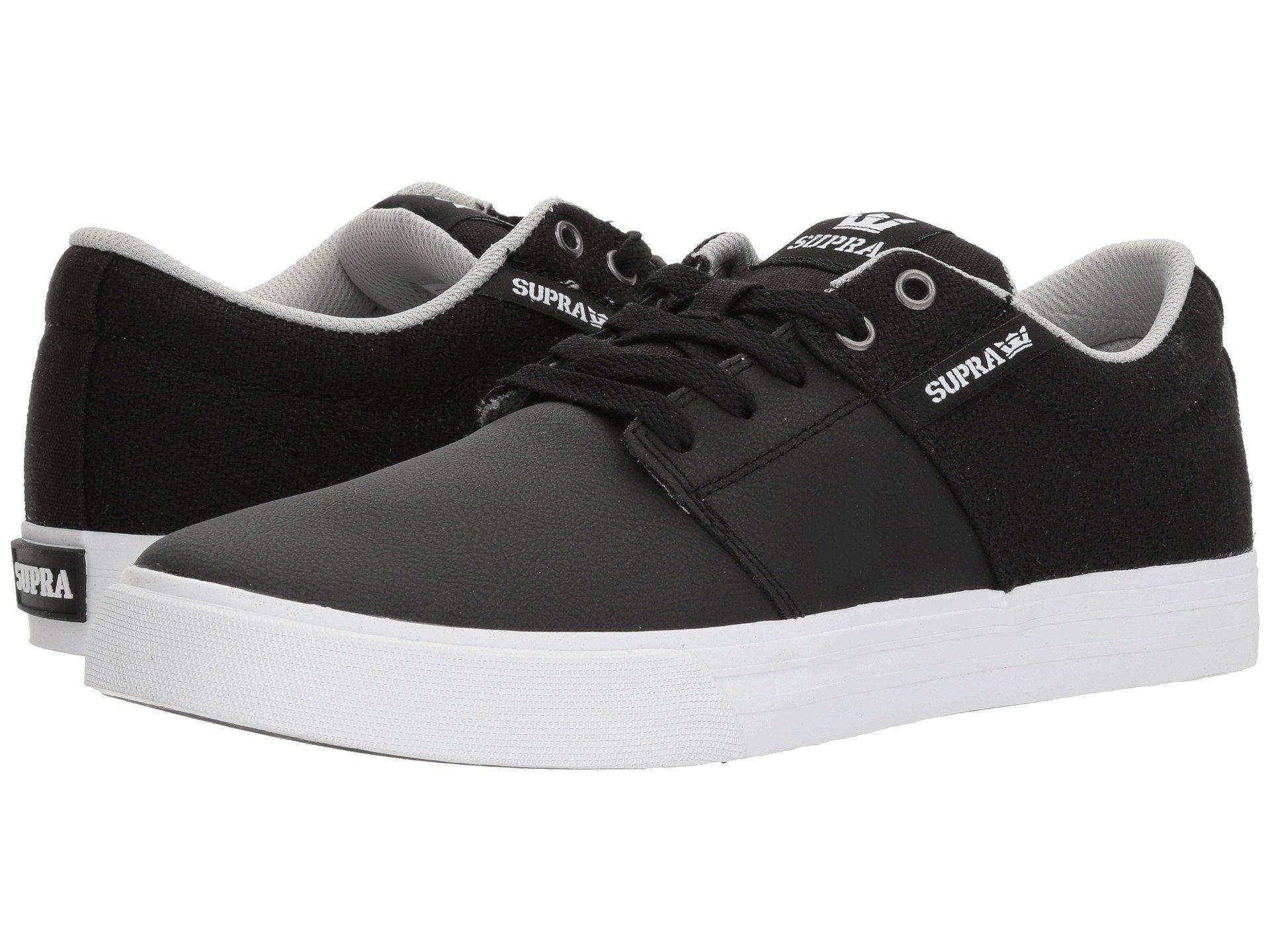 a31783058376 Lyst - Supra Stacks Vulc Ii (black gum) Men s Skate Shoes in Black ...