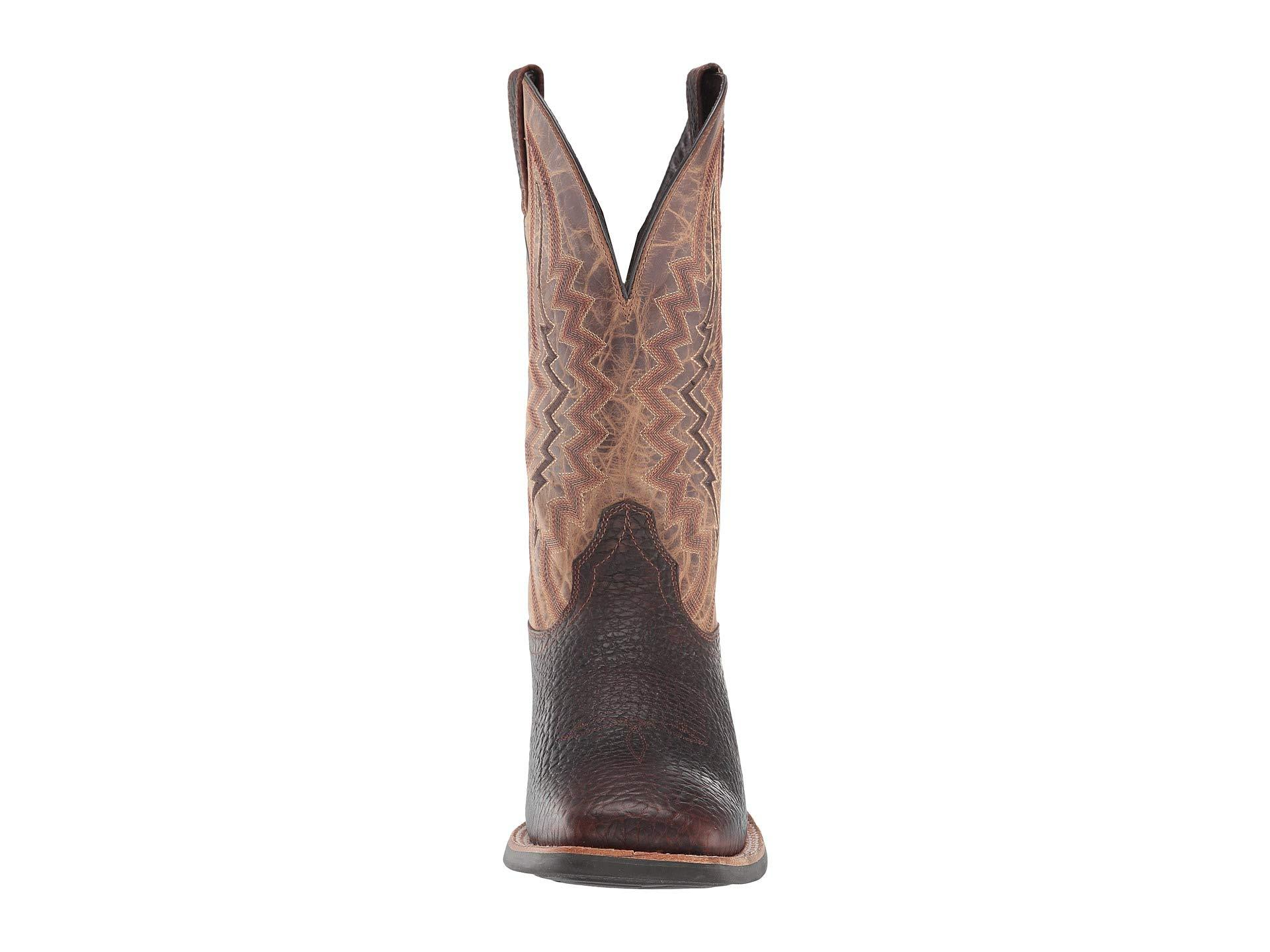 de4bc72a8f5 Lyst - Ariat Relentless Short Round (straight Whiskey/dusted Wheat ...