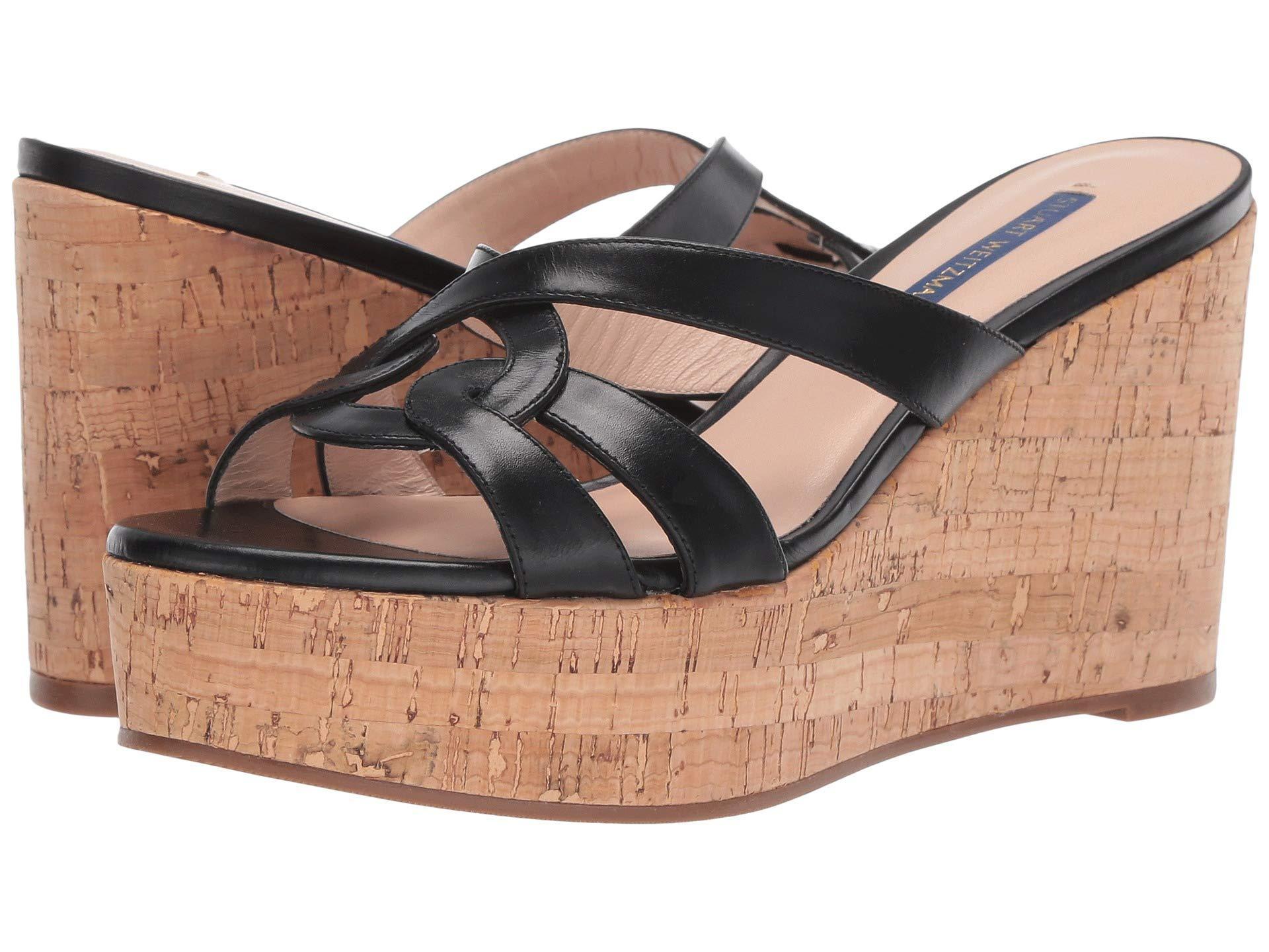 042e4eef8299 Stuart Weitzman - Multicolor Cadence (black Shine Calf) Women s Shoes -  Lyst. View fullscreen