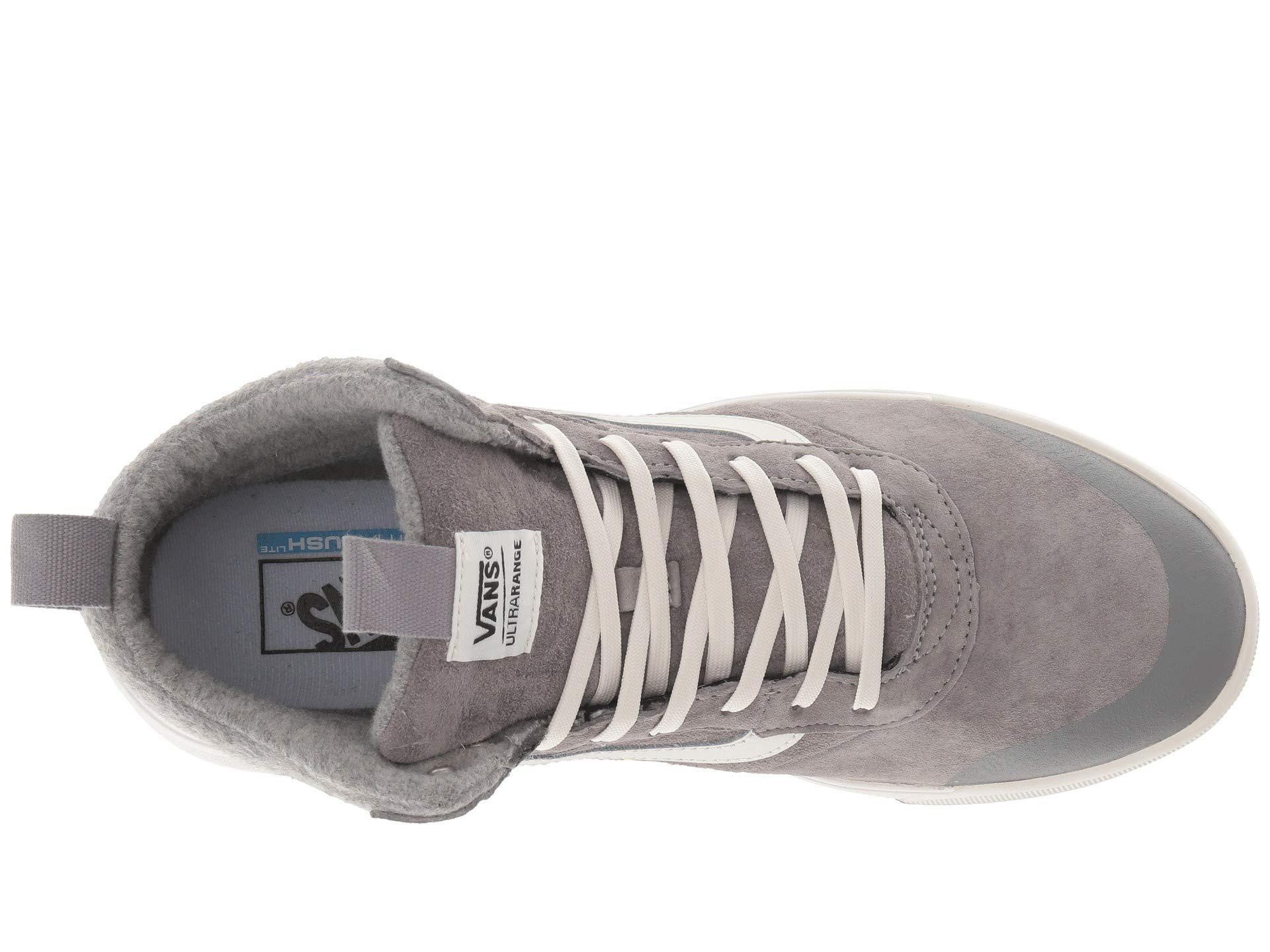 Lyst - Vans Ultrarange Hi Mte ((wool) Asphalt) Skate Shoes in Gray ... 4df1874e0