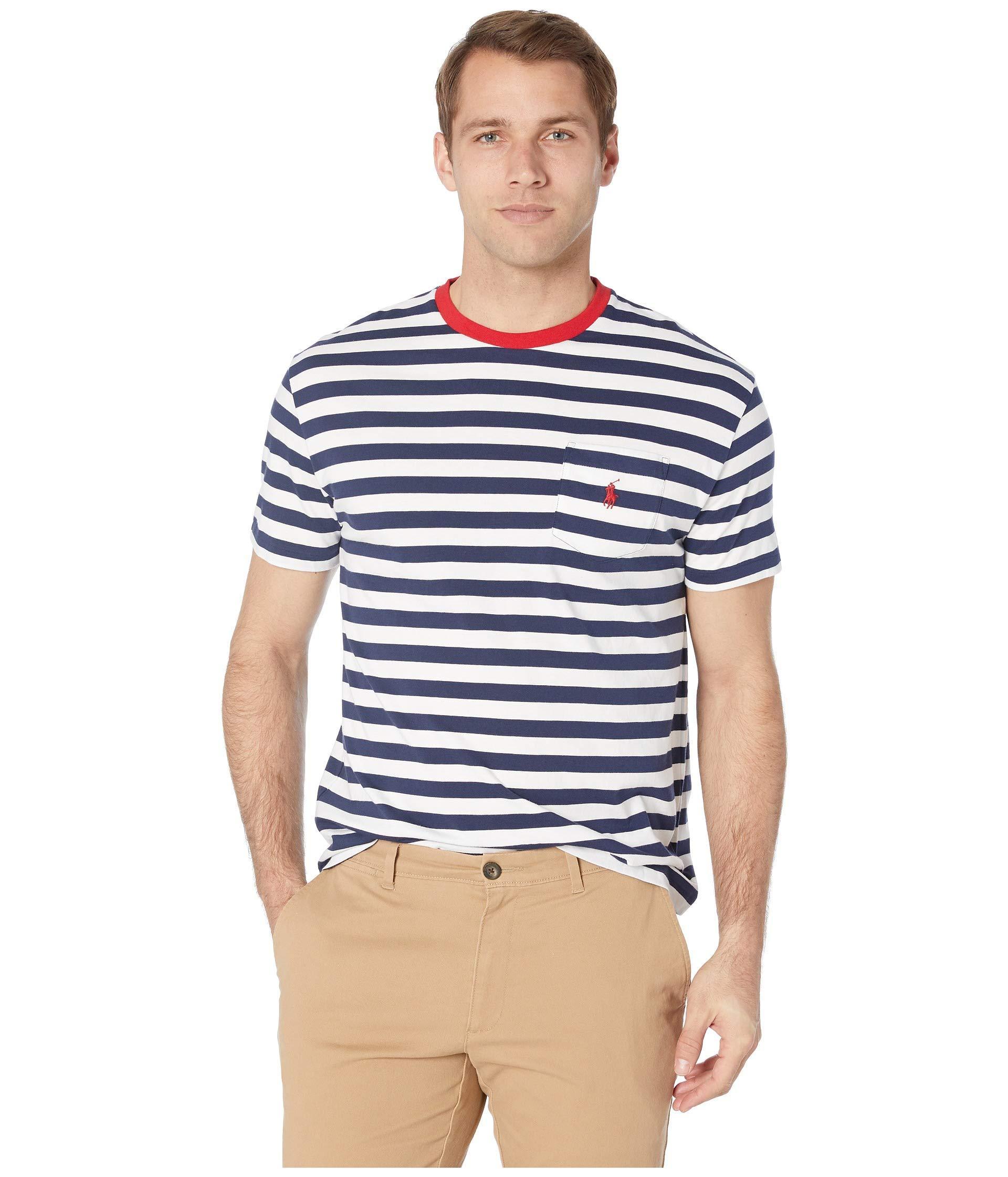 e0c10ed8ace0 Lyst - Polo Ralph Lauren Short Sleeve Classic Fit Pocket Tee (cruise ...