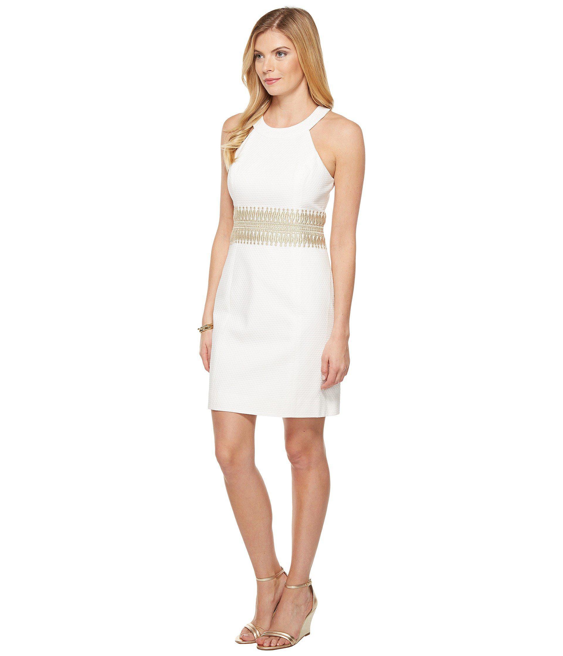 328f6bea66fbbe Lilly Pulitzer Ashlyn Shift Dress (resort White) Women's Dress in ...