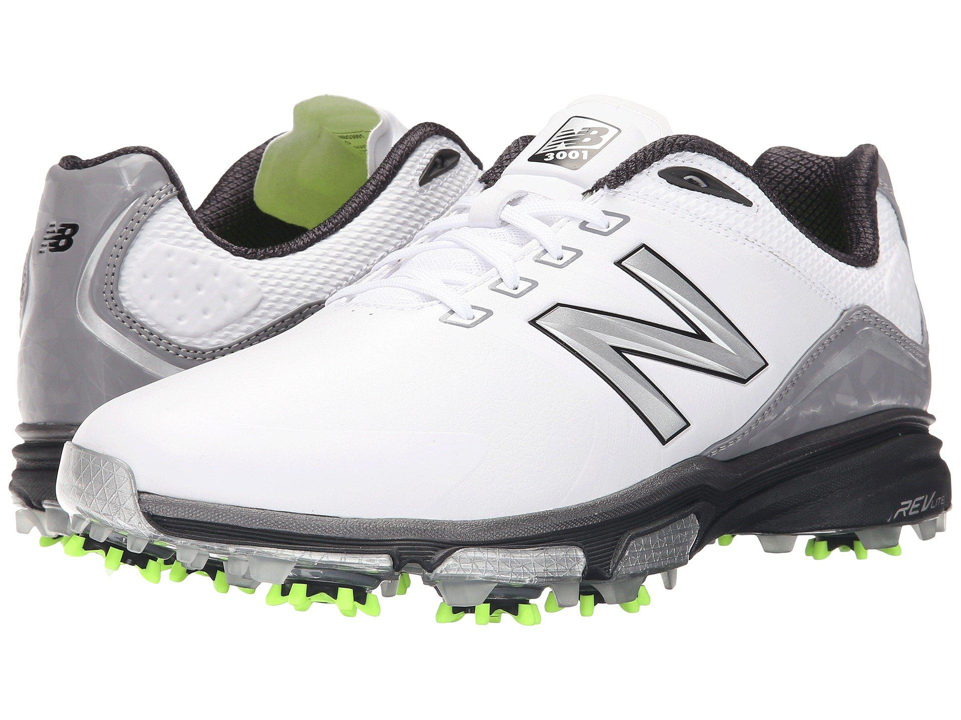 Lyst - New Balance Nbg3001 (white/black) Men's Golf Shoes ...