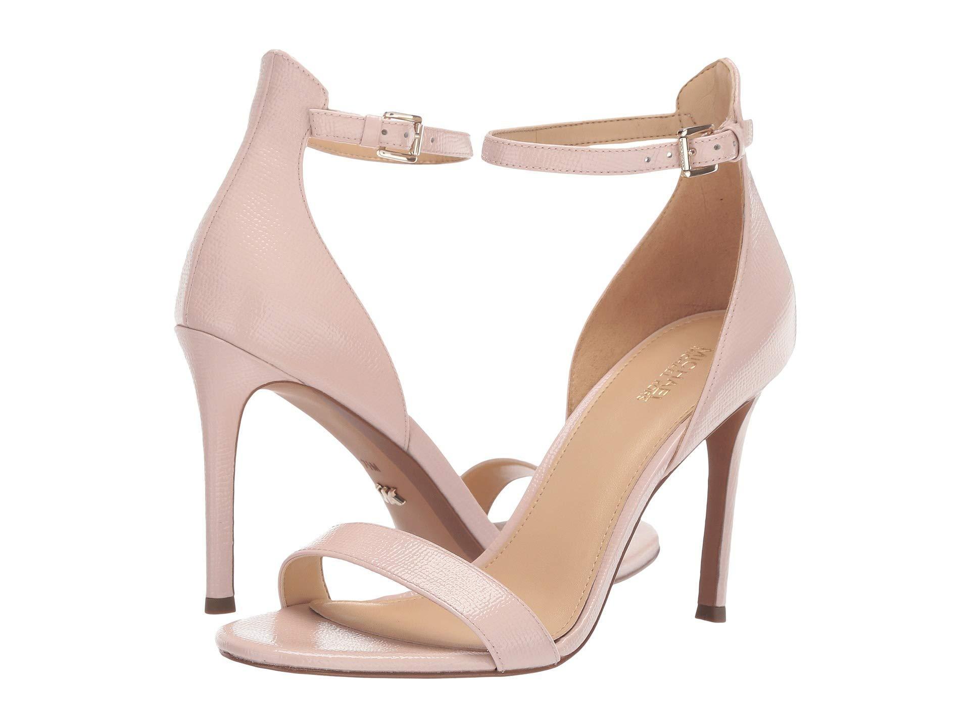 bc7850884c68 MICHAEL Michael Kors. Women s Pink Harper Sandal (black Vachetta) High Heels