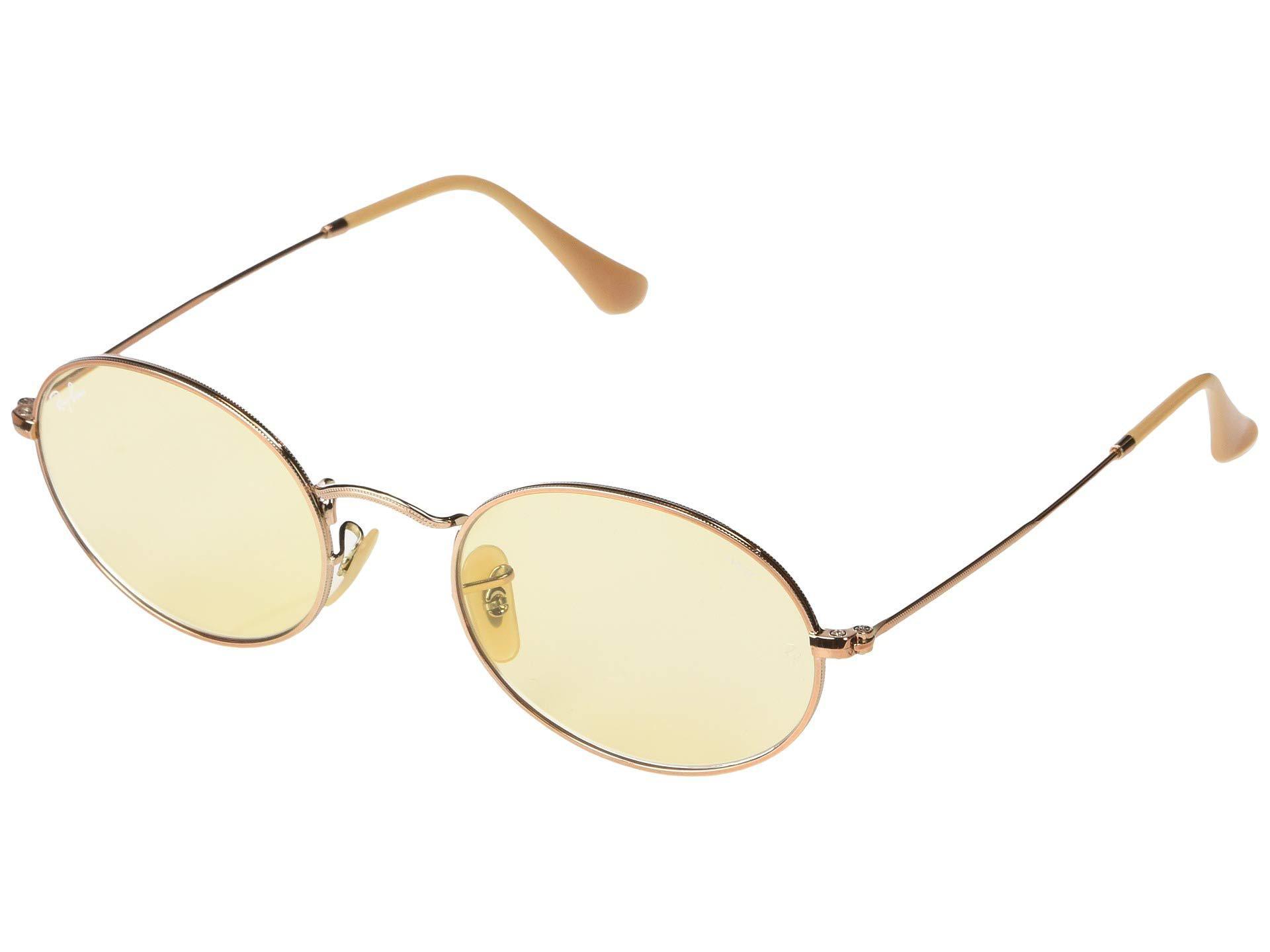 dcae98a7b31 Lyst - Ray-Ban 54 Mm Rb3547n (copper evolve Light Yellow) Fashion ...