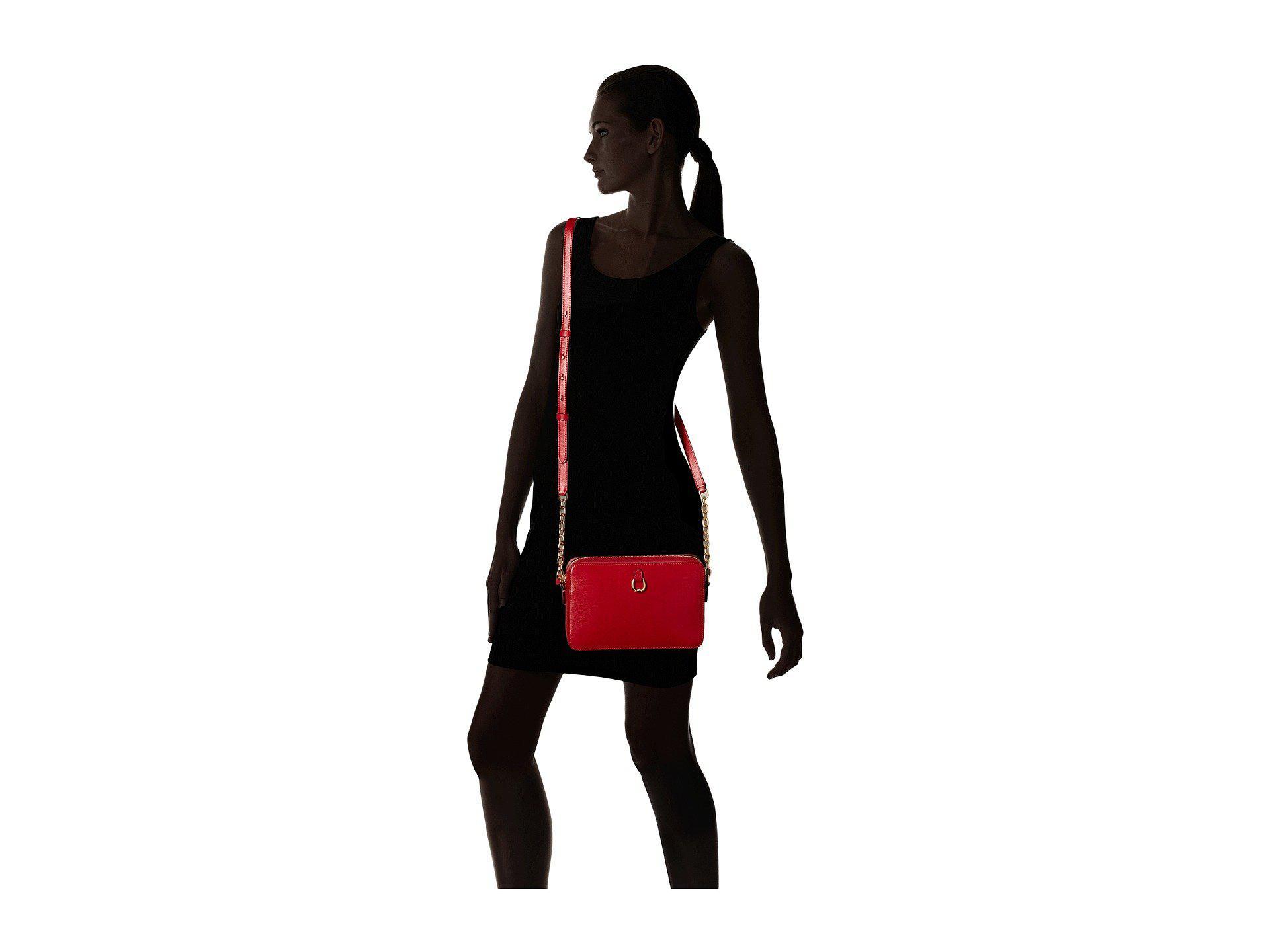 0cc302afa0 Lyst - Lauren by Ralph Lauren Bennington Camera Bag Crossbody Medium ...