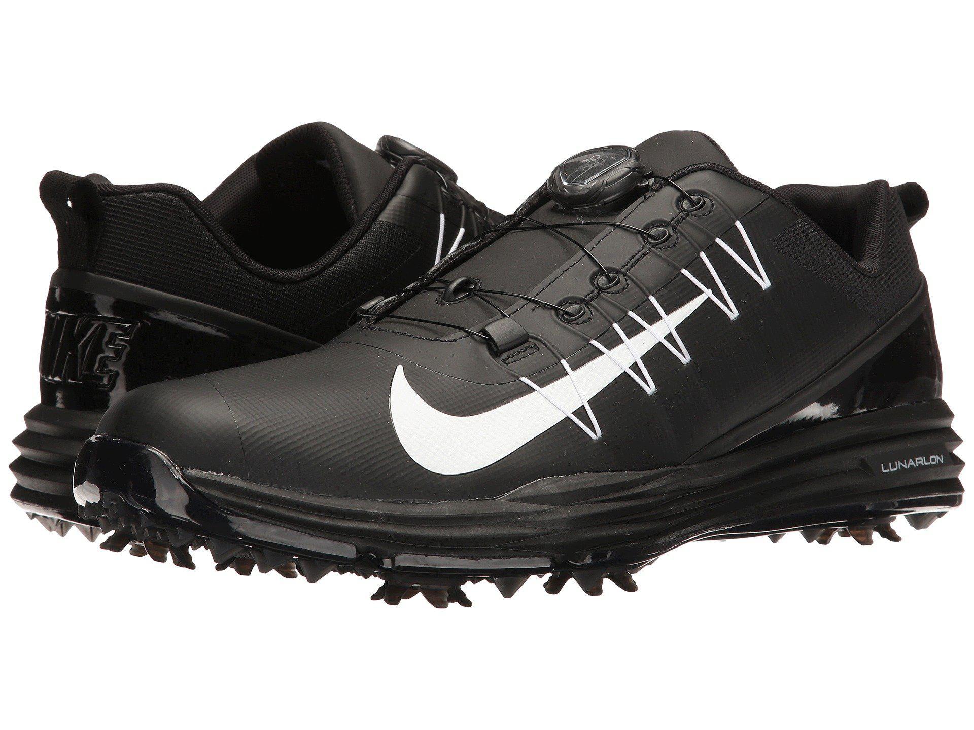 e45ee456d1ad Lyst - Nike Lunar Command 2 Boa (black white black) Men s Golf Shoes ...