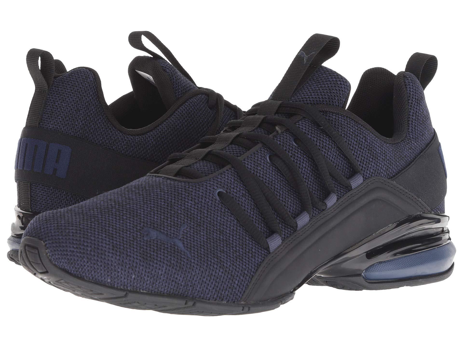 f36de506a718 ... Lyst - Puma Axelion ( Black peacoat) Men s Shoes in Black for Men buy  ...