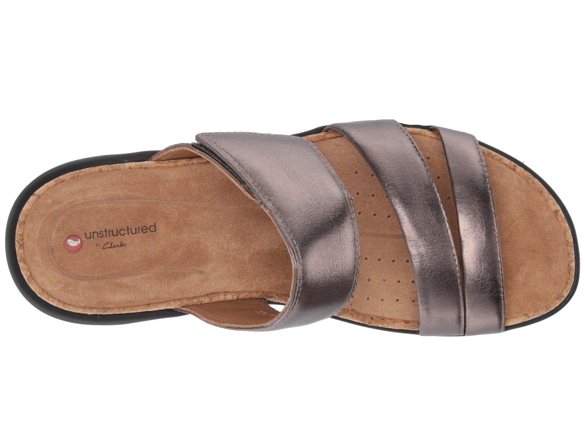 d40ae28bfbb6 Clarks - Multicolor Un Bali Way (black Leather) Women s Sandals - Lyst.  View fullscreen