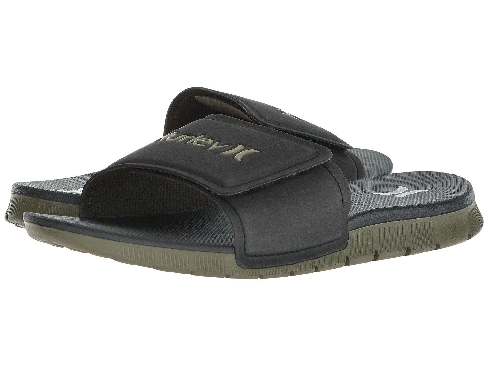882ac717bfd9 Lyst - Hurley Fusion 2.0 Slide (olive Canvas) Men s Slide Shoes in ...
