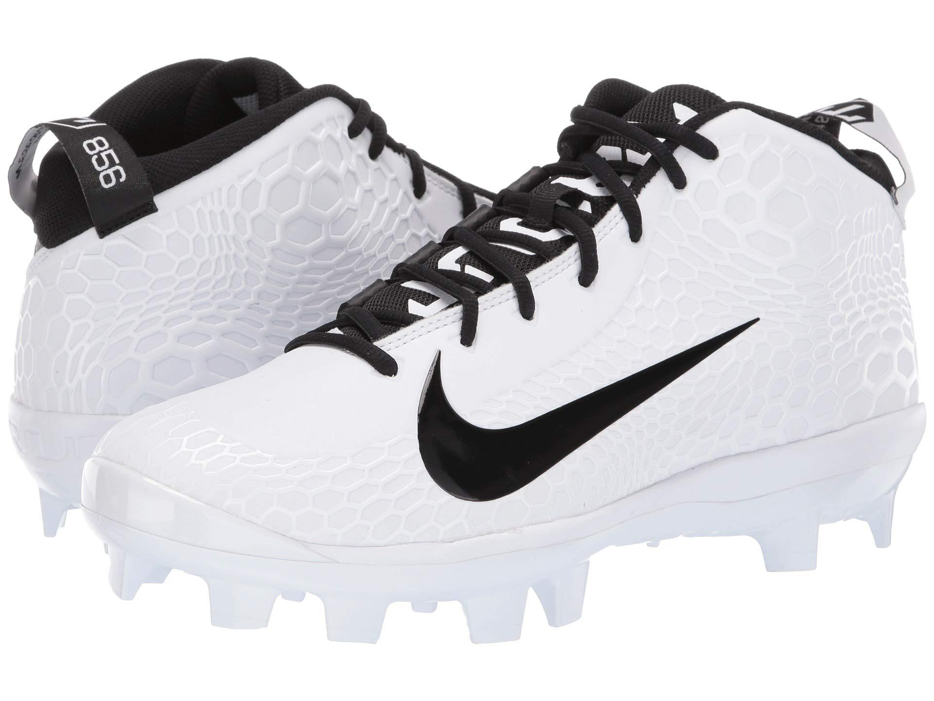 new product 1dd37 b07bb Nike - Force Zoom Trout 5 Pro Mcs (white black) Men s Cleated Shoes. View  fullscreen