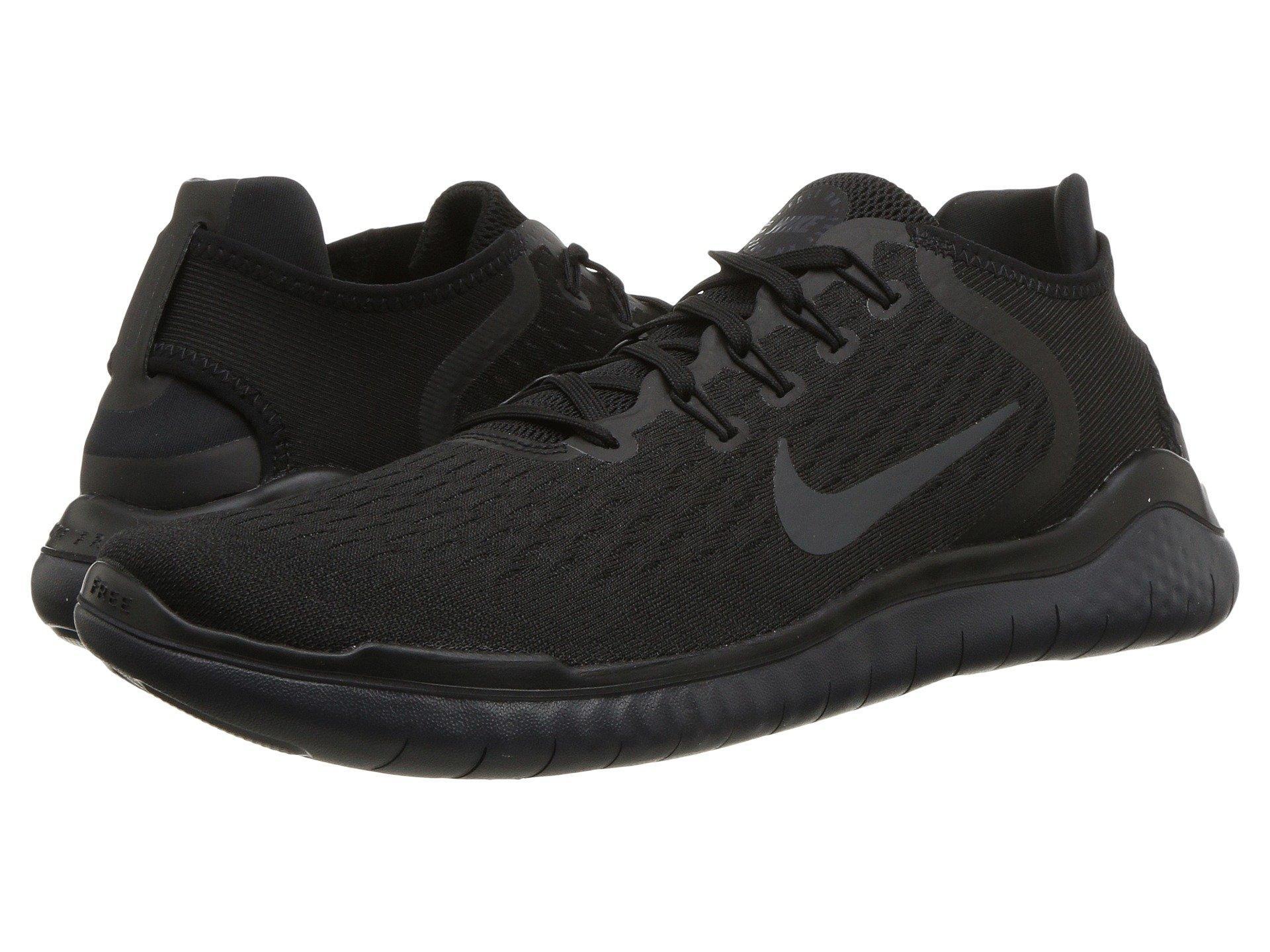 hot sale online eb096 27b05 Nike - Free Rn 2018 (black white) Men s Running Shoes for Men -. View  fullscreen