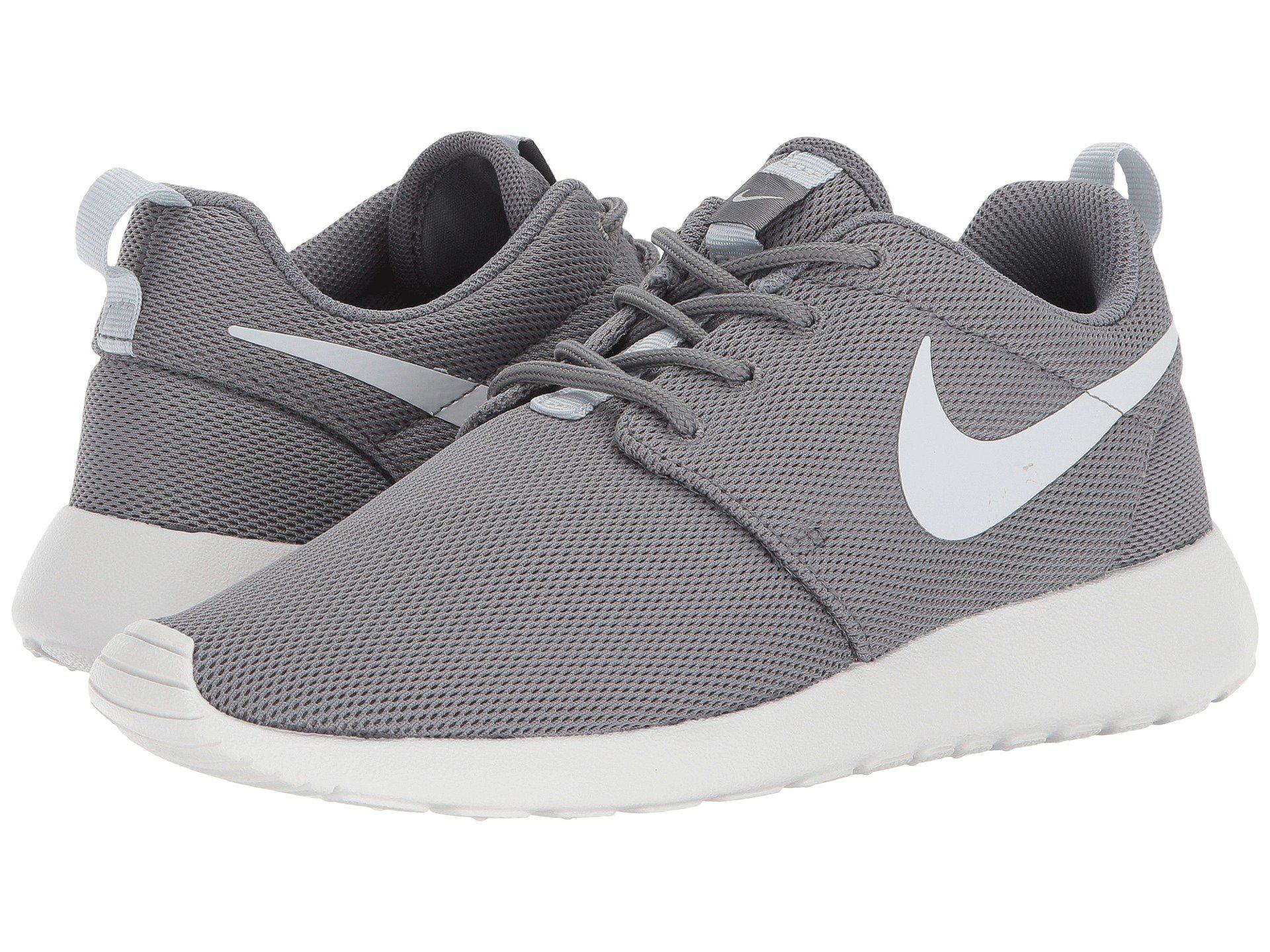 outlet store c75aa cd8ae Nike. Gray Roshe One (cool Grey pure Platinum summit White) Women s Shoes