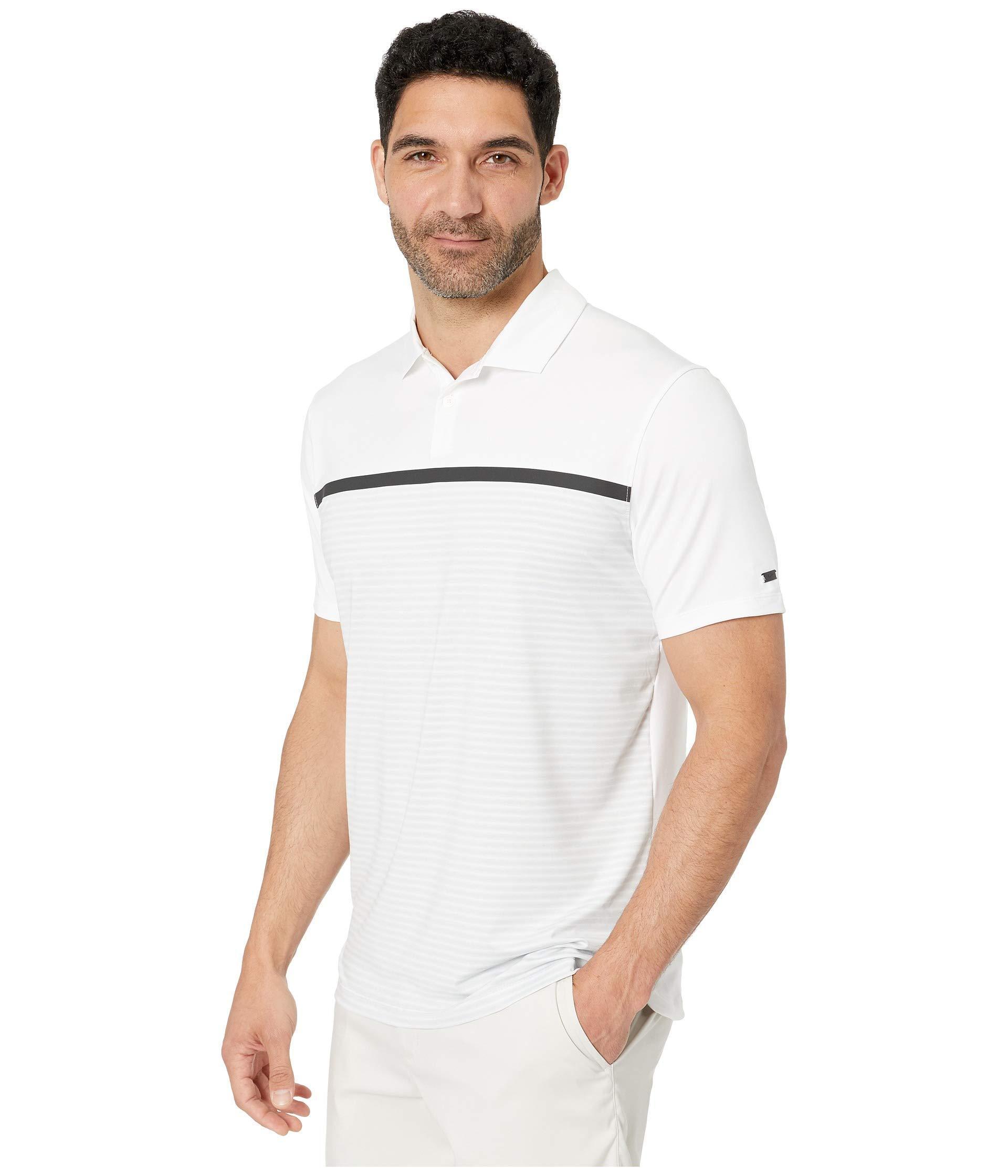 7505369b55 Nike Tw Dry Vapor Stripe Block Polo (black/black) Men's Clothing in White  for Men - Lyst
