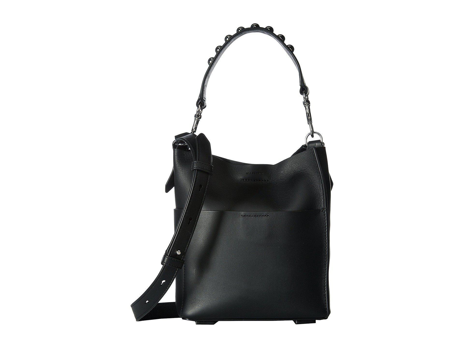 AllSaints SUZI TOTE - Shopping Bag - black