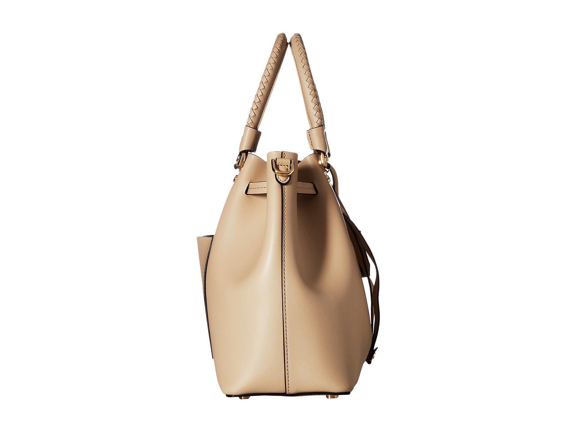 9de33aa4a8f4b Lyst - Michael Michael Kors Blakely Medium Bucket Bag (pale .