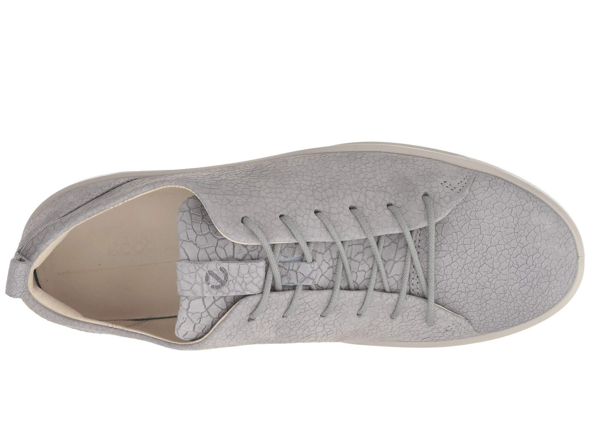 243c25ac3f12 Ecco - Gray Soft 8 Sneaker (rose Dust Cow Leather) Women s Lace Up Casual.  View fullscreen