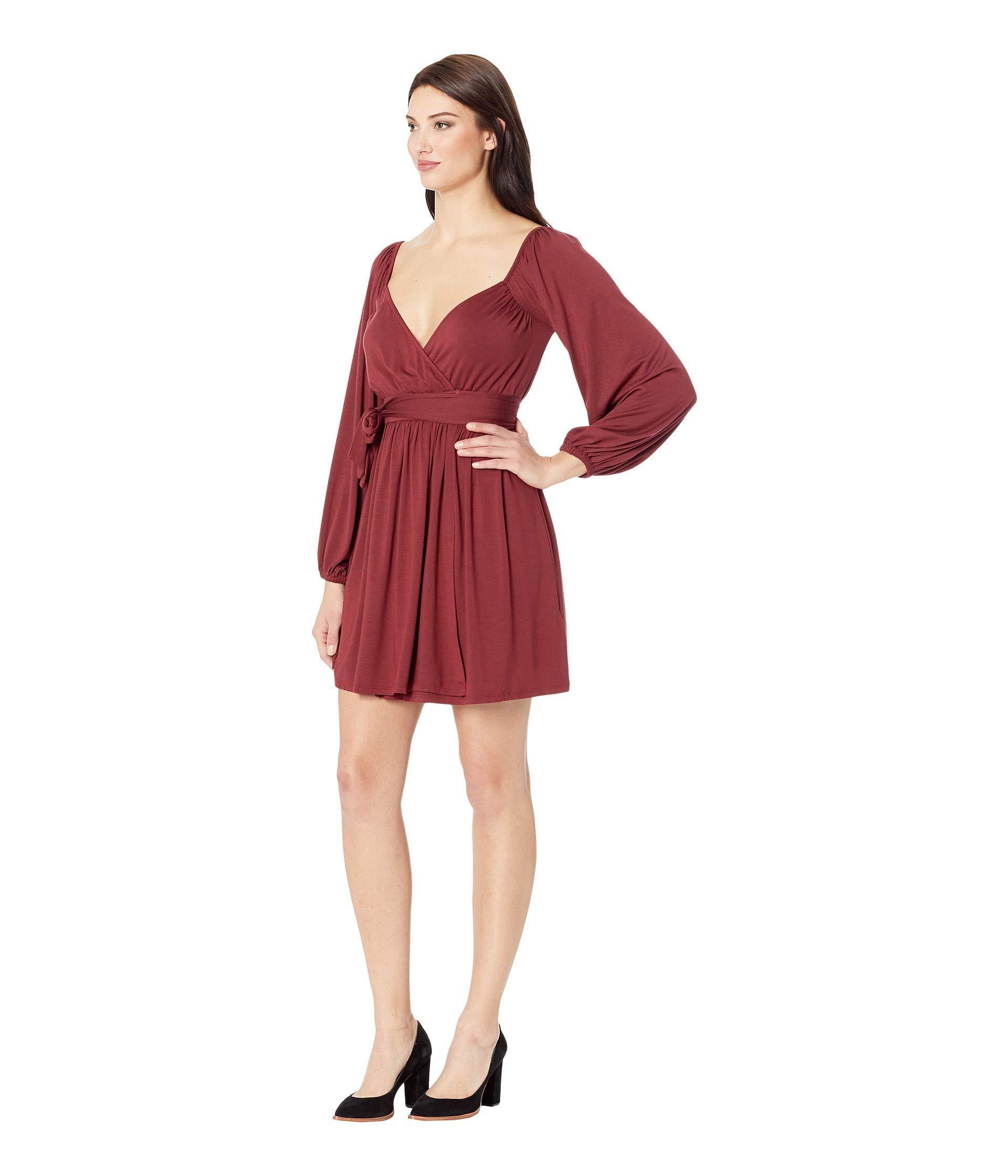 Lyst - Rachel Pally Sera Wrap Dress (gamay) Women s Dress in Red c44a4cca95c