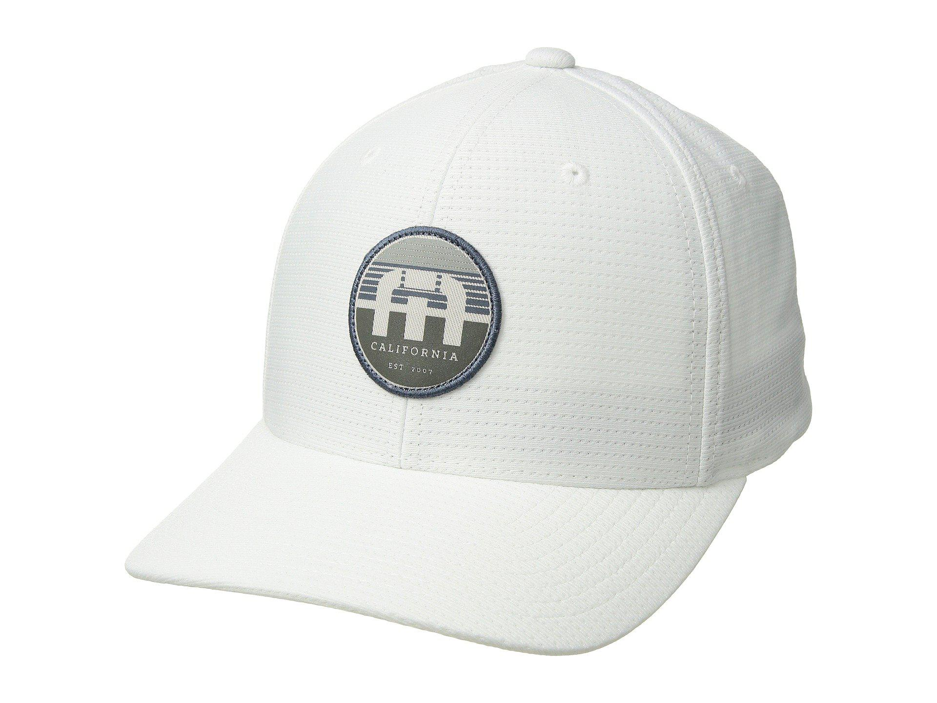 cheap for discount 74a04 dcd86 ... coupon for lyst travis mathew septor white caps in white for men 7a4fd  ec4ba