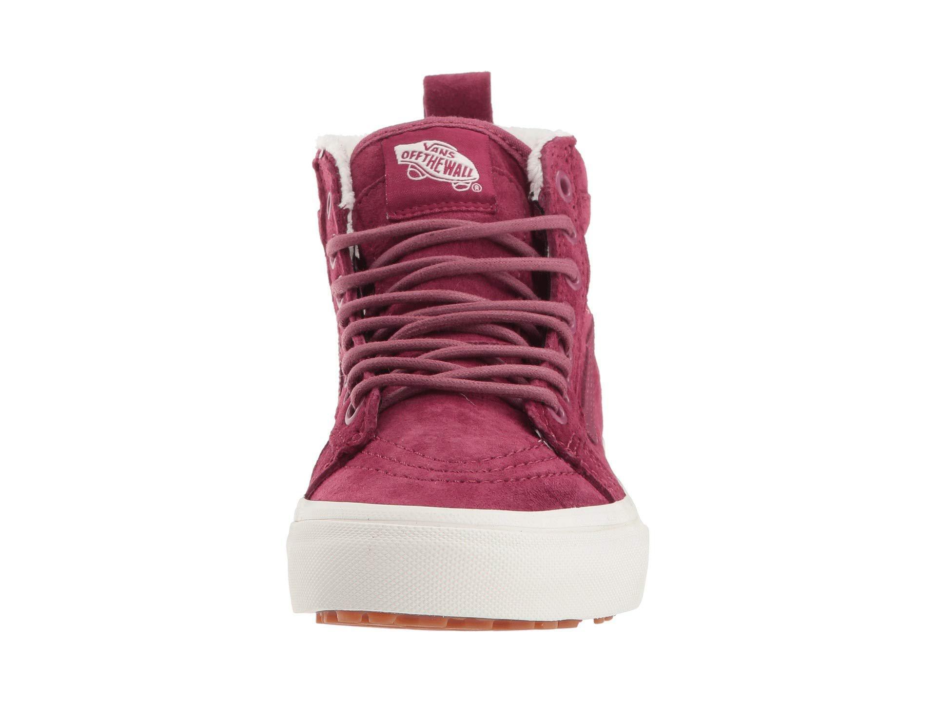 01165740d8 Lyst - Vans Sk8-hi Mte ((mte) Black gum) Skate Shoes