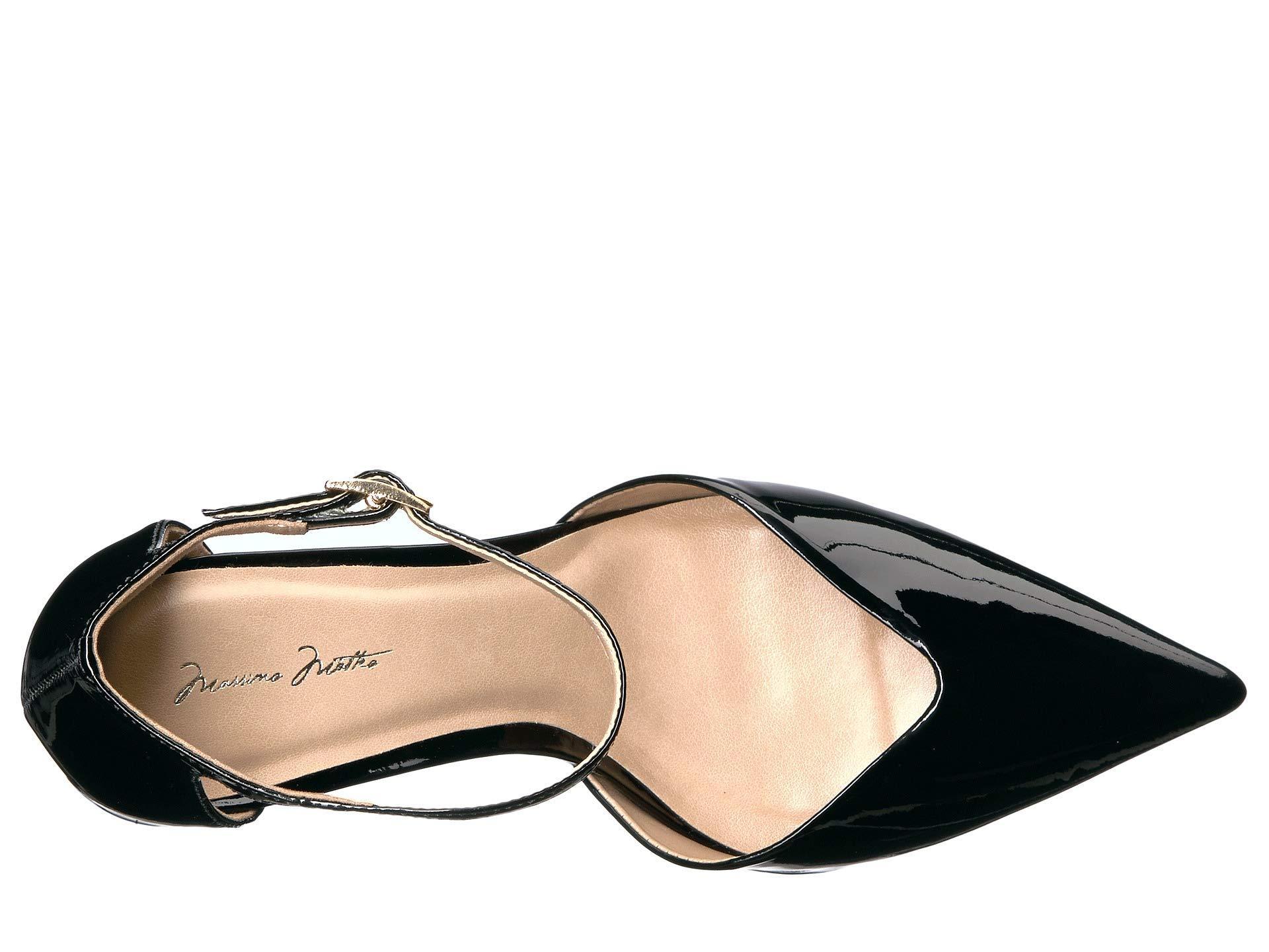19b961b0b0b6 Massimo Matteo - Randi Pump (black Patent) High Heels - Lyst. View  fullscreen