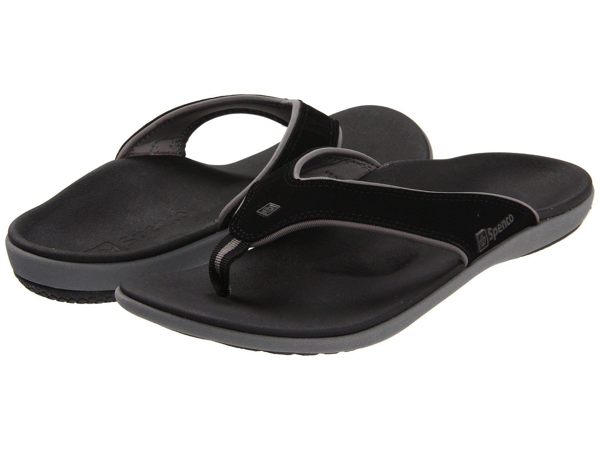 859455a232b Spenco - Black Yumi (dark Brown) Men s Sandals for Men - Lyst. View  fullscreen