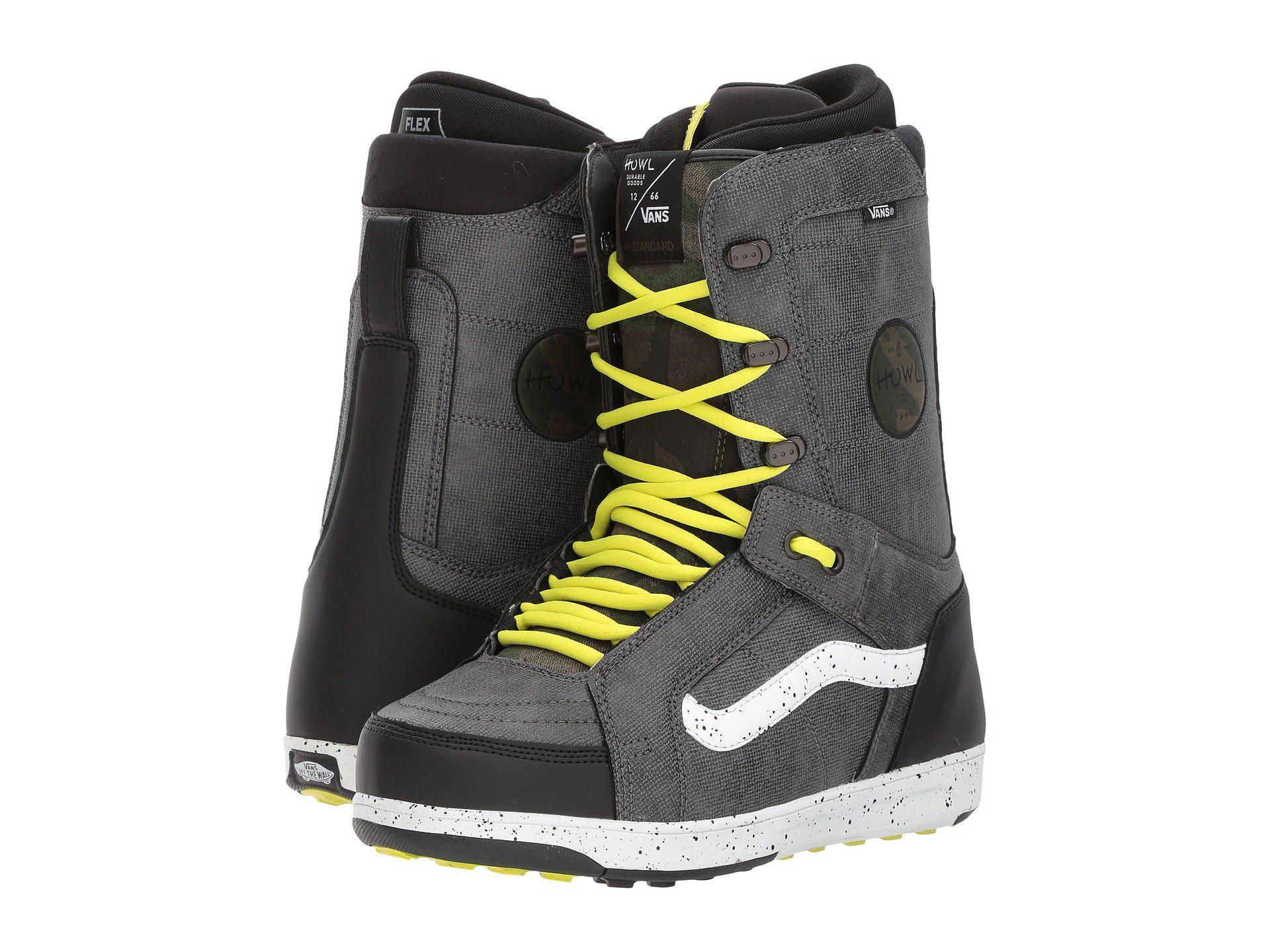 9dadf0d7d45b Lyst - Vans Hi-standard ((howl) Black sulphur) Men s Snow Shoes in ...