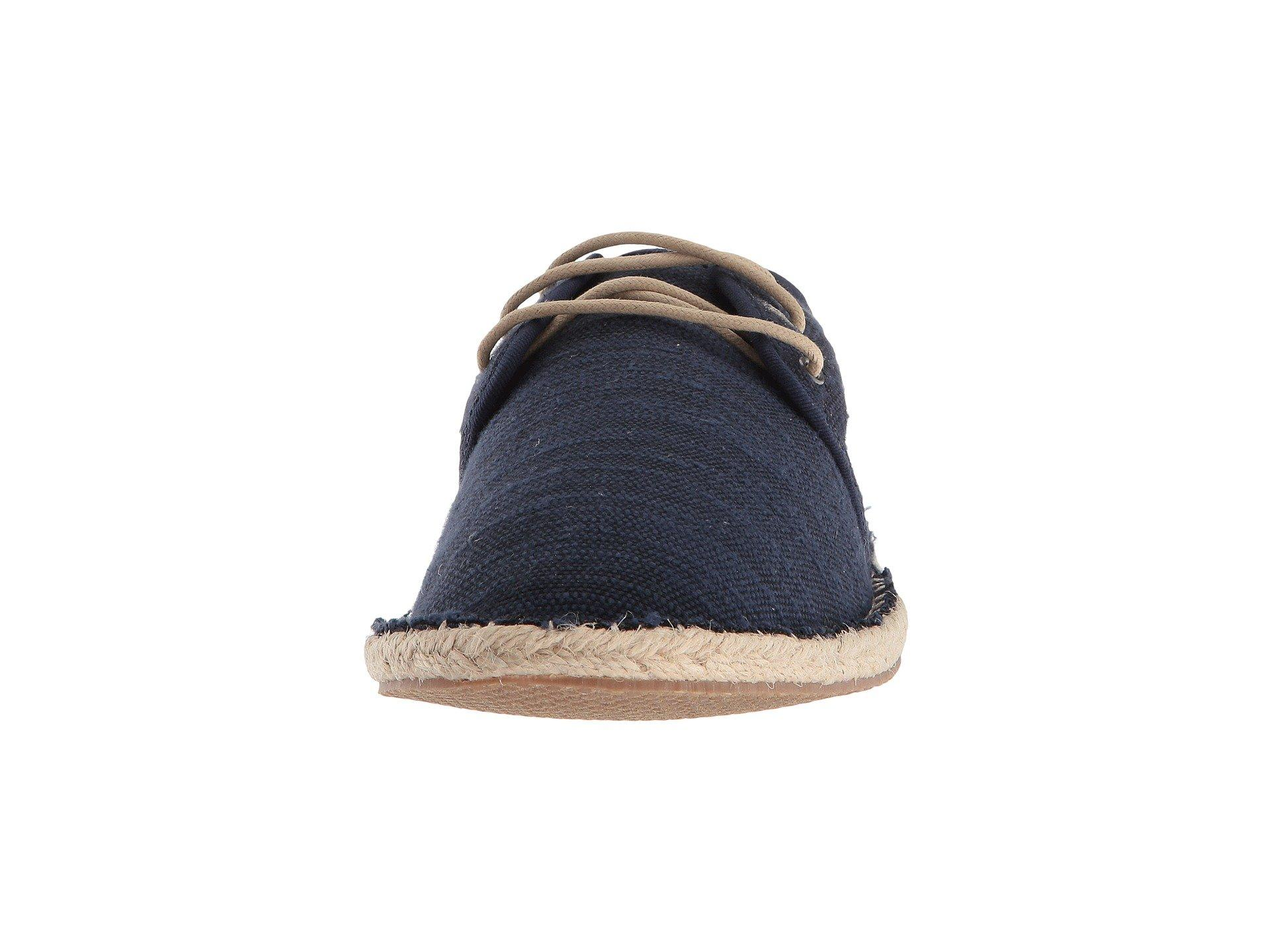 bef6ea33277 TOMS - Blue Diego (navy white Noise Jersey) Men s Lace Up Casual Shoes.  View fullscreen