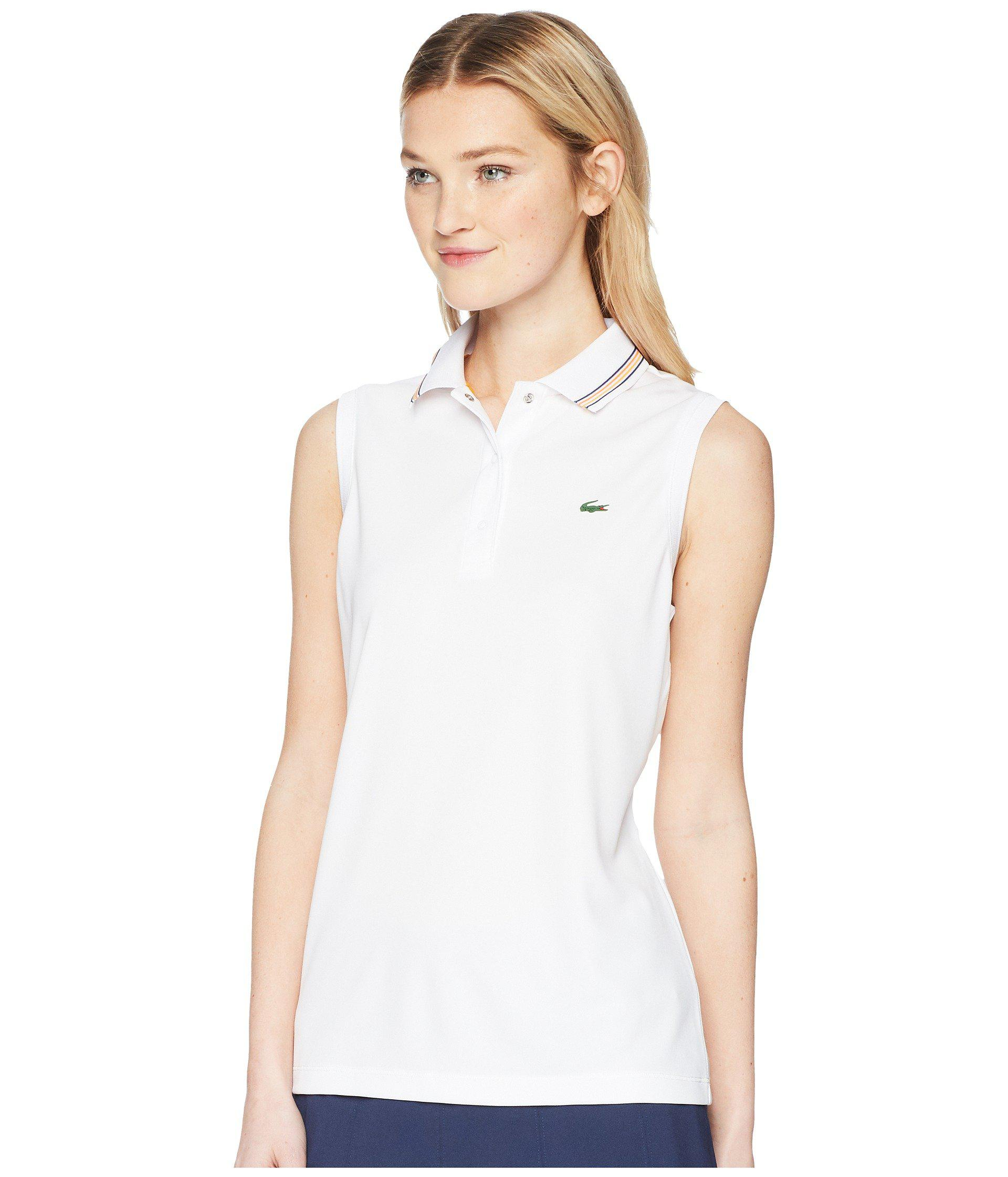 Lacoste Womens Sleeveless Polo Shirts Rockwall Auction