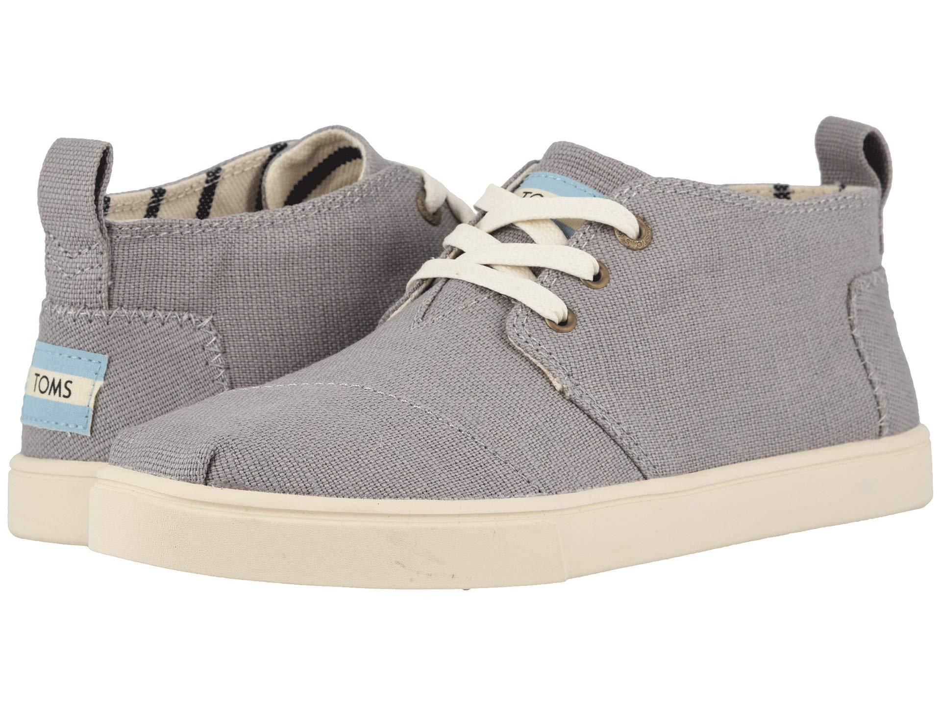 031d0f7c090 TOMS - Gray Botas Cupsole (morning Dove Heritage Canvas Cupsole) Women s  Boots - Lyst. View fullscreen