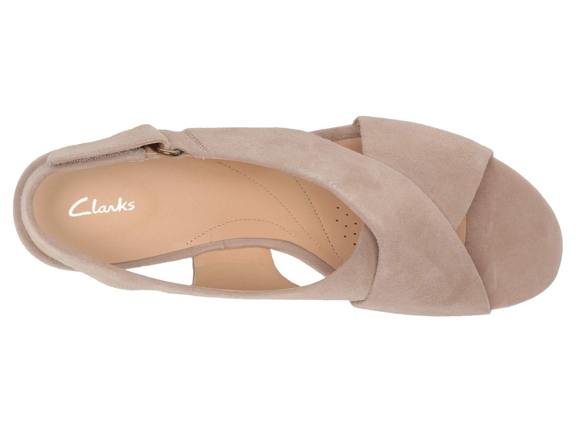 c30b2a1ac13f Clarks - Natural Maritsa Lara (sand Suede) Women s Wedge Shoes - Lyst. View  fullscreen