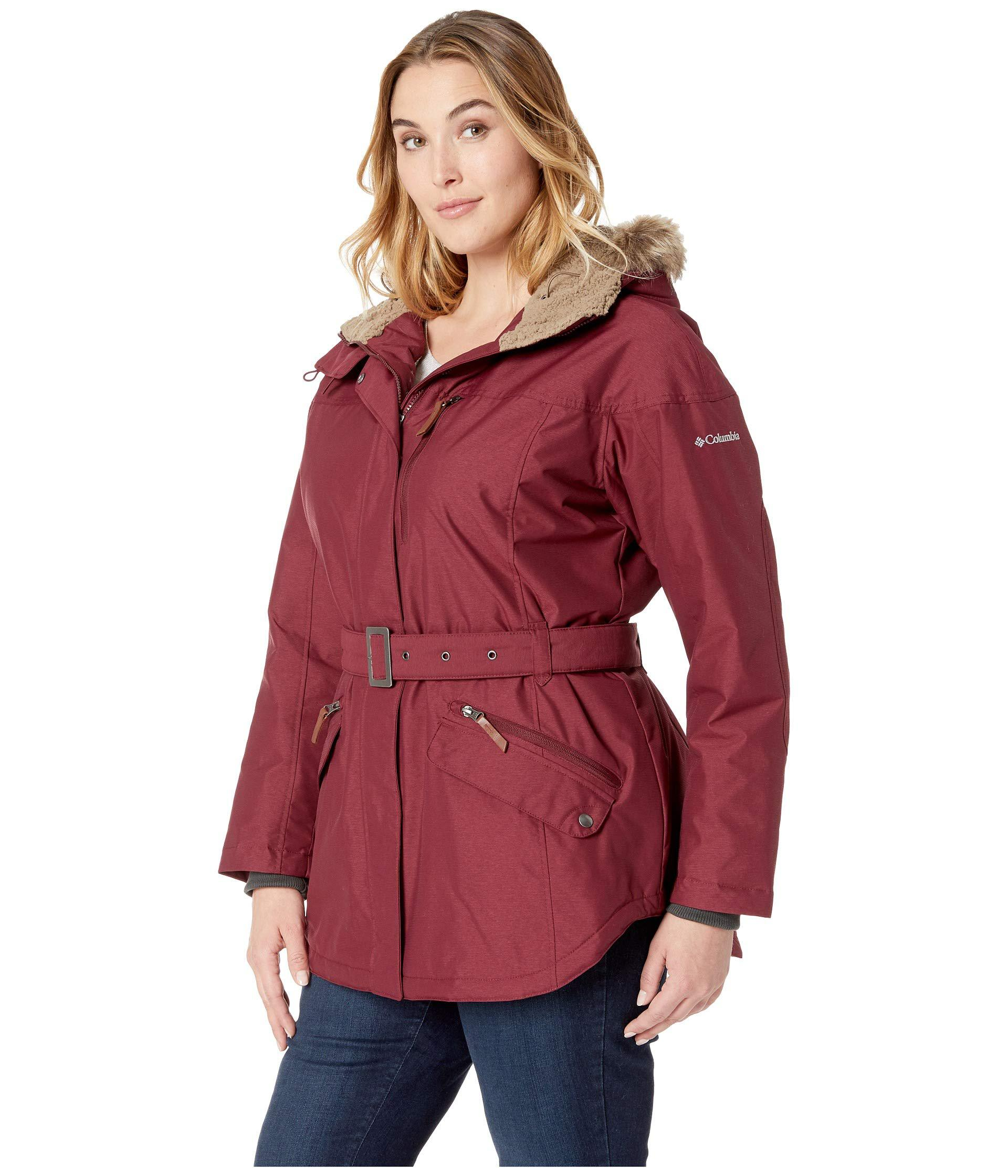 455b1a3af05 Lyst - Columbia Plus Size Carson Pass Ii Jacket (nori) Women s Coat ...