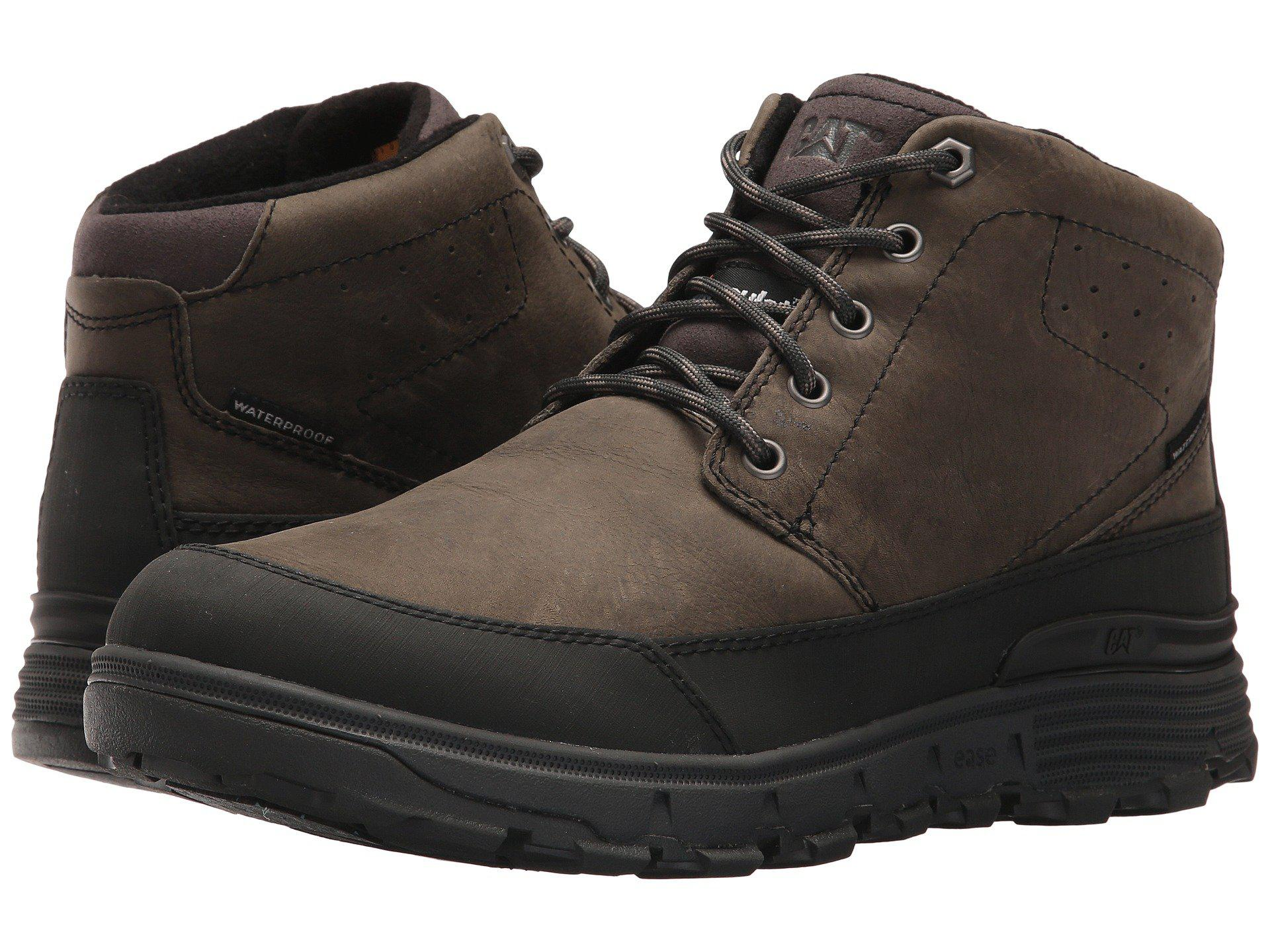 CAT Footwear Drover Ice + Waterproof TX Leather Chukka Boot FHcNqFhKV