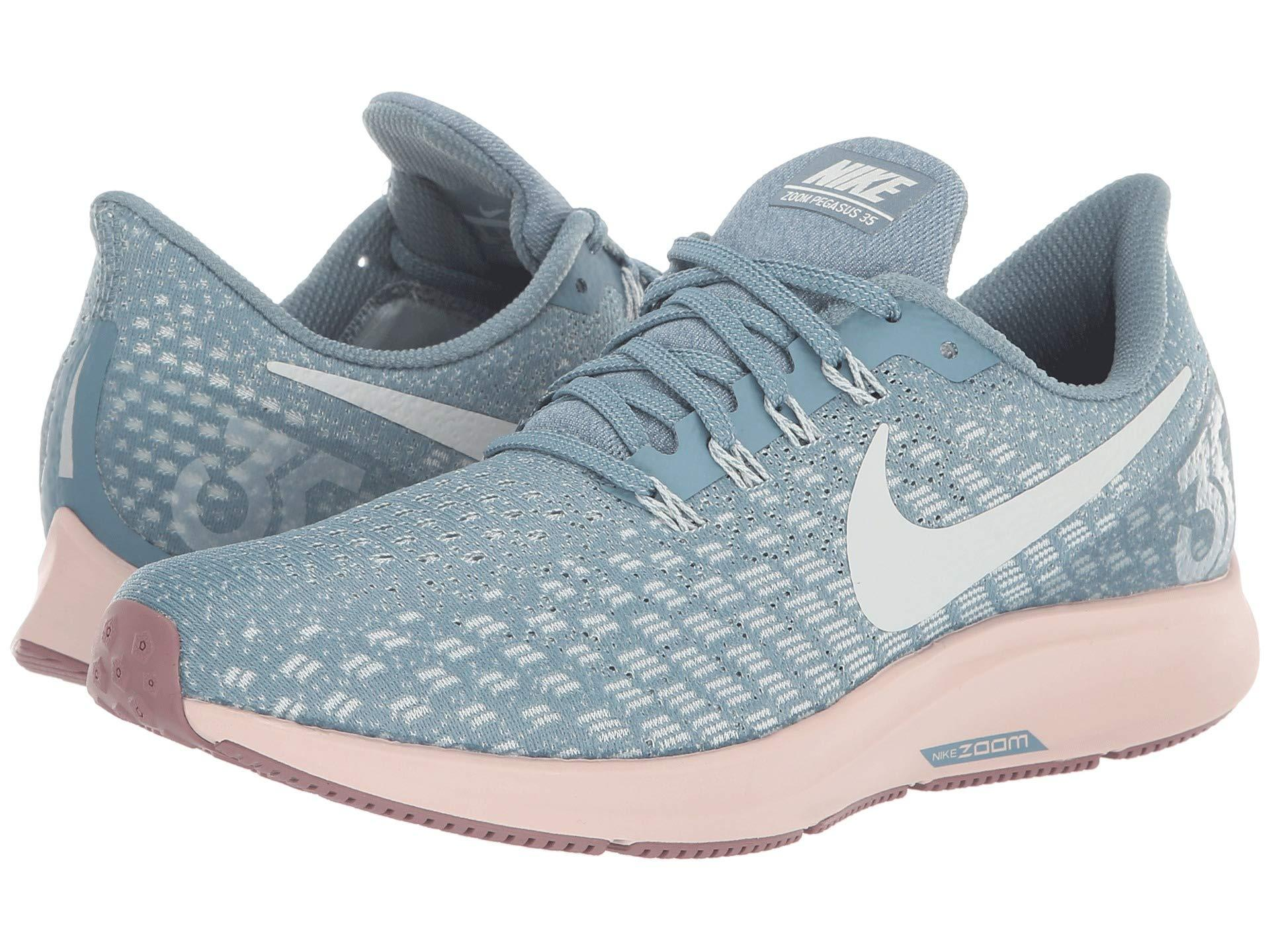 68a35b97cb13 Lyst - Nike Air Zoom Pegasus 35 (vast Grey black pink Foam lime ...