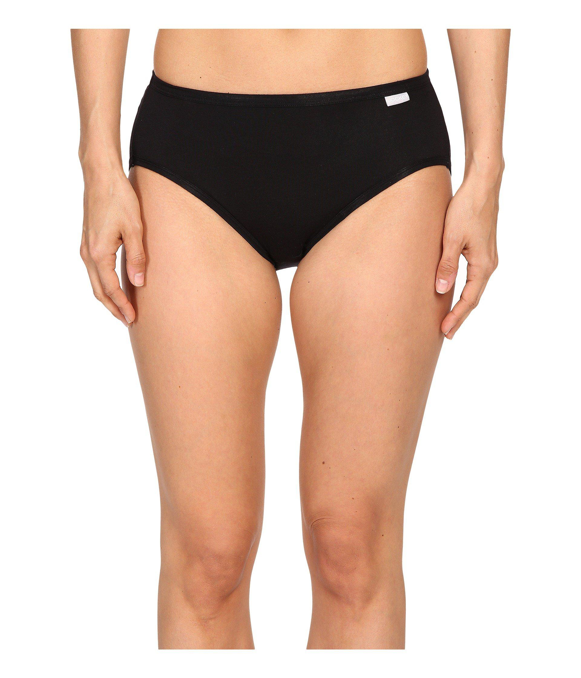 jockey elance supersoft classic hipster panty pack