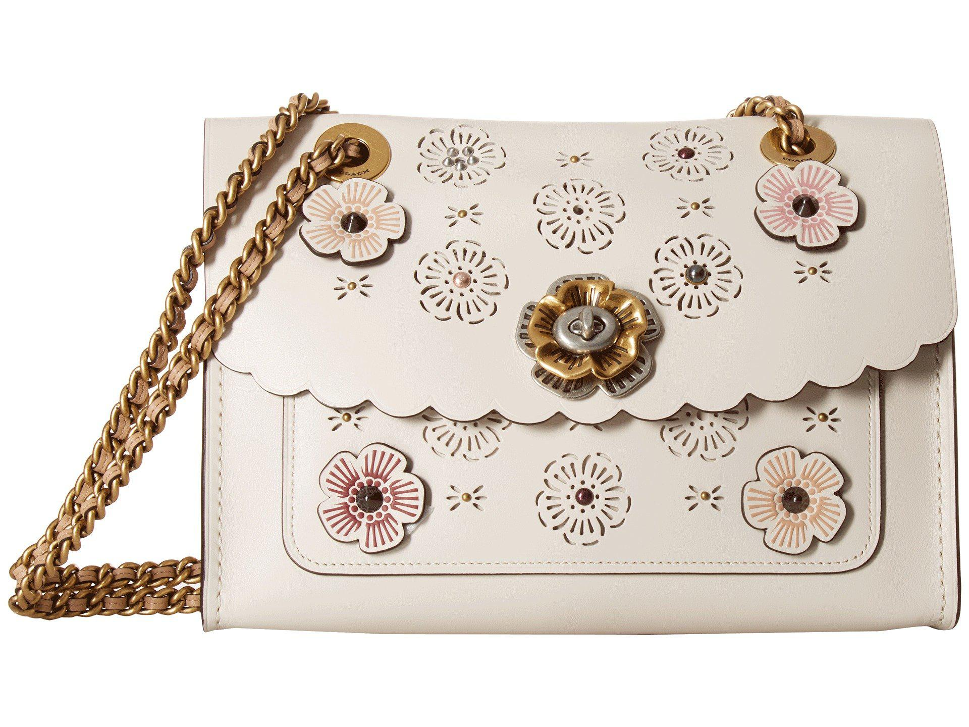 7920cfa9bba2 COACH Parker With Cut Out Tea Rose - Lyst
