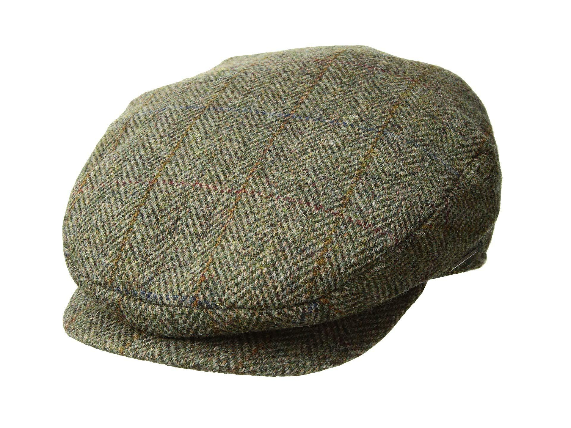 d994272afb667 Stetson Harris Tweed Ivy (olive) Traditional Hats in Green for Men ...
