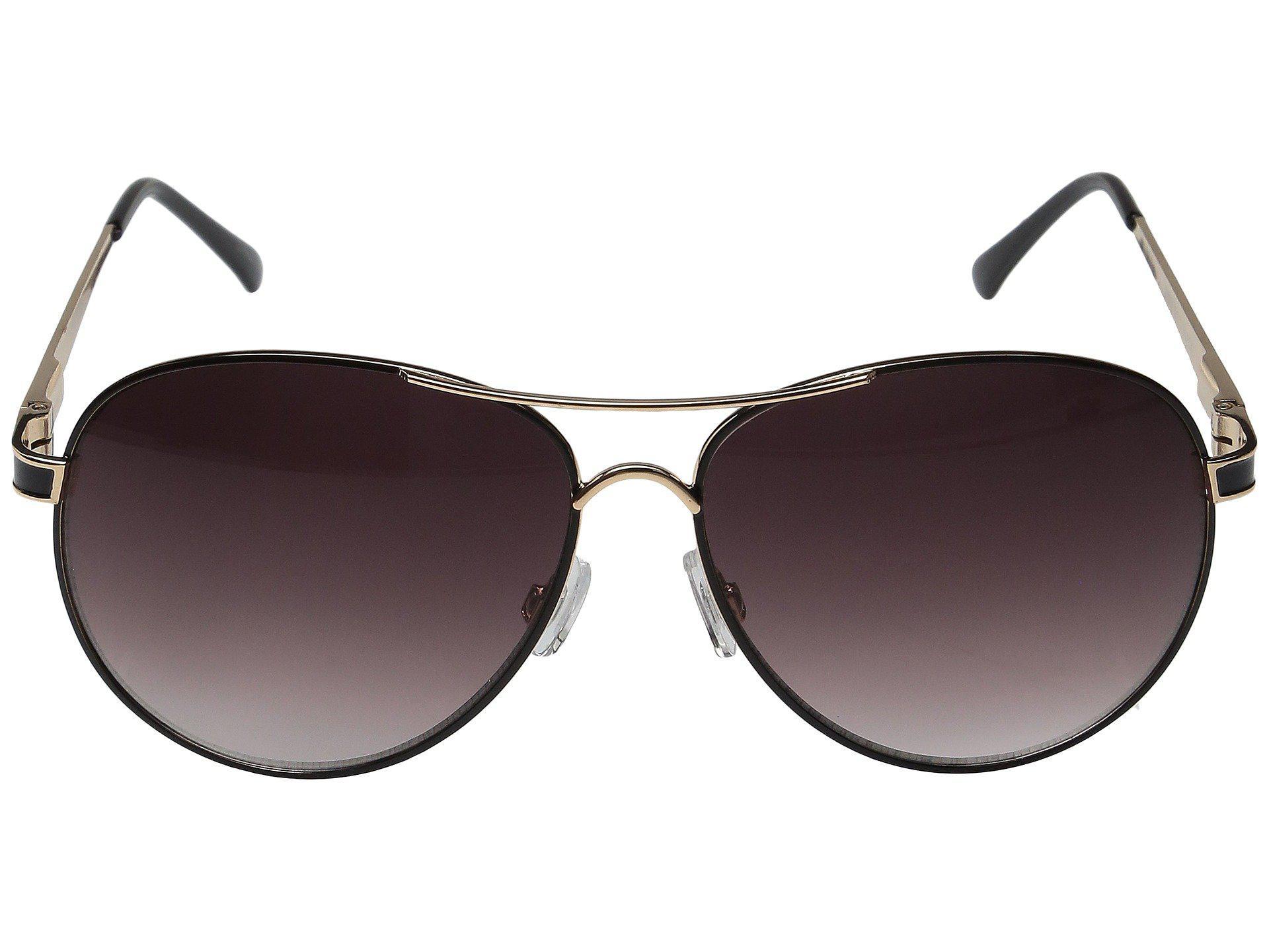 5b787417cd Steve Madden - Black Lauren (rose Gold white) Fashion Sunglasses - Lyst.  View fullscreen