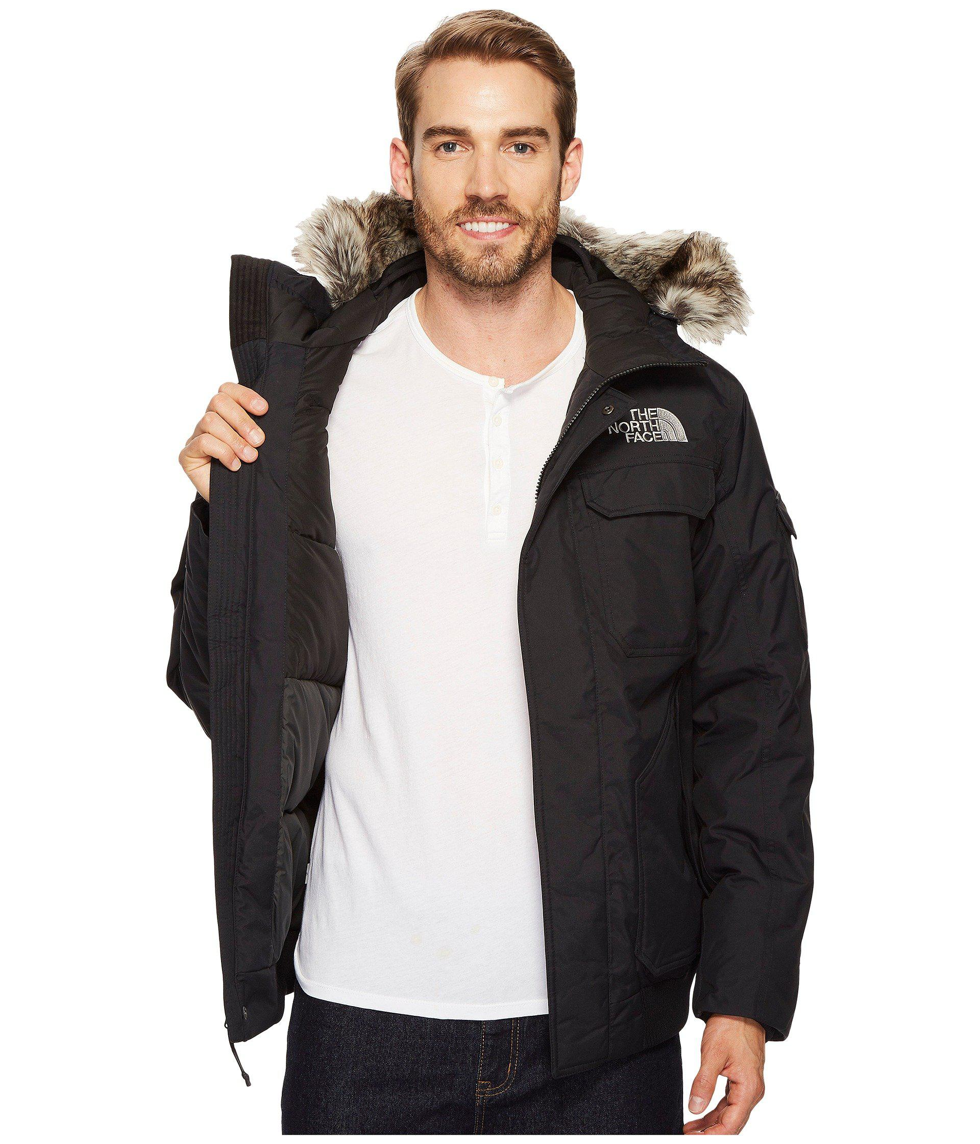 Lyst The North Face Gotham Jacket Iii Tnf Black Metallic Copper