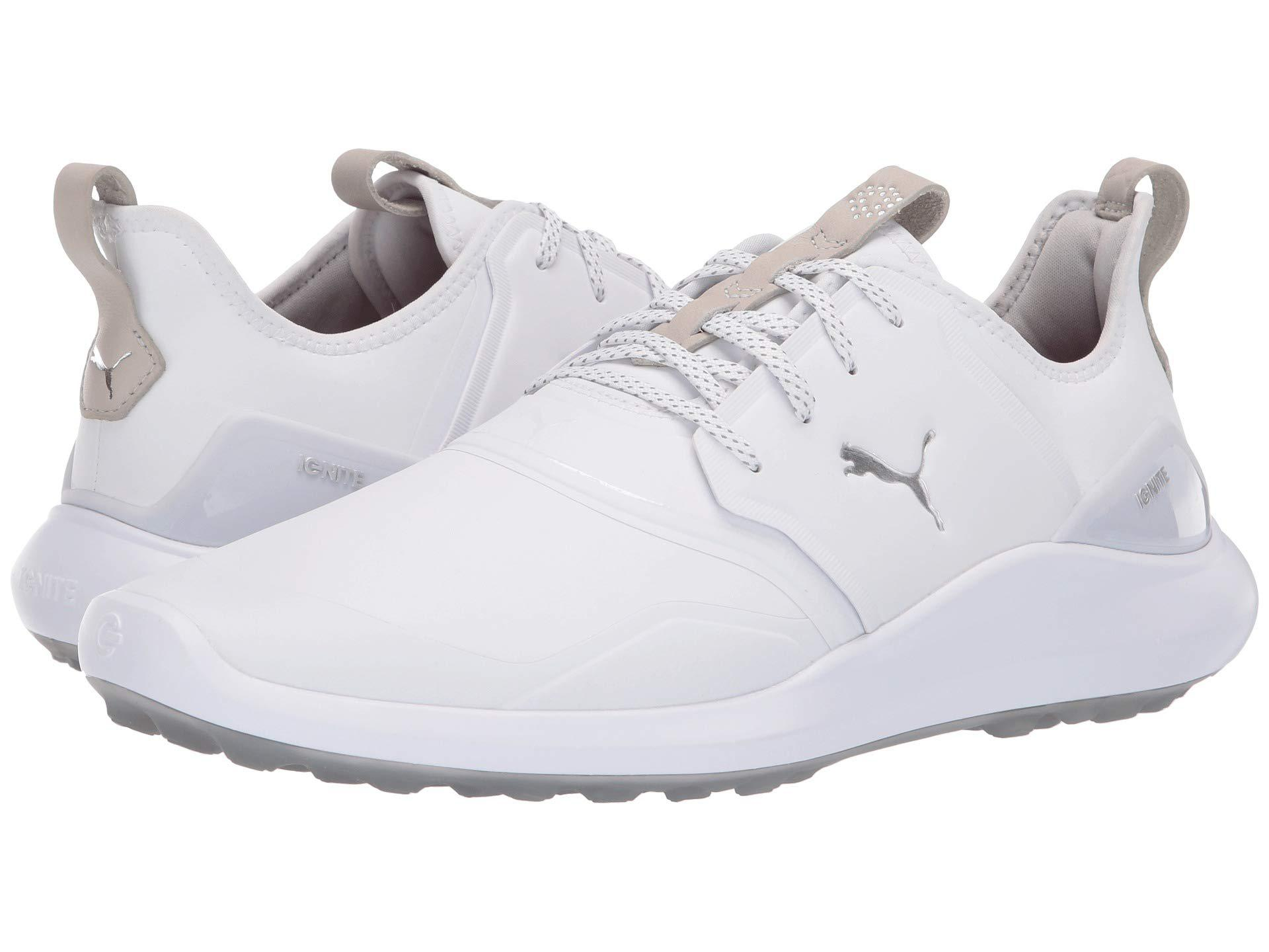 72b772f897d761 Lyst - PUMA Ignite Nxt Pro Golf Shoe in White for Men